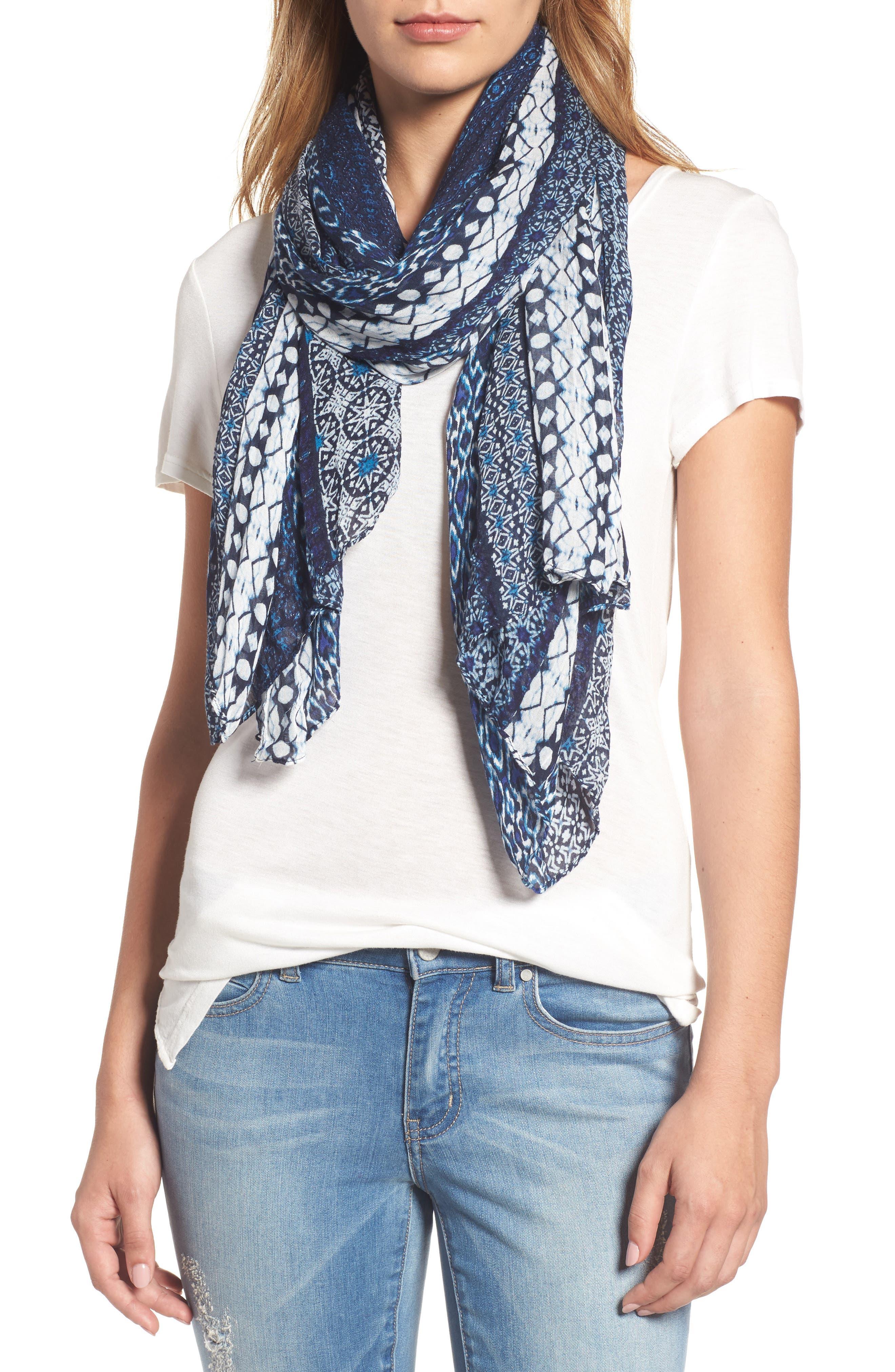 Caslon® Batik Marina Wrap