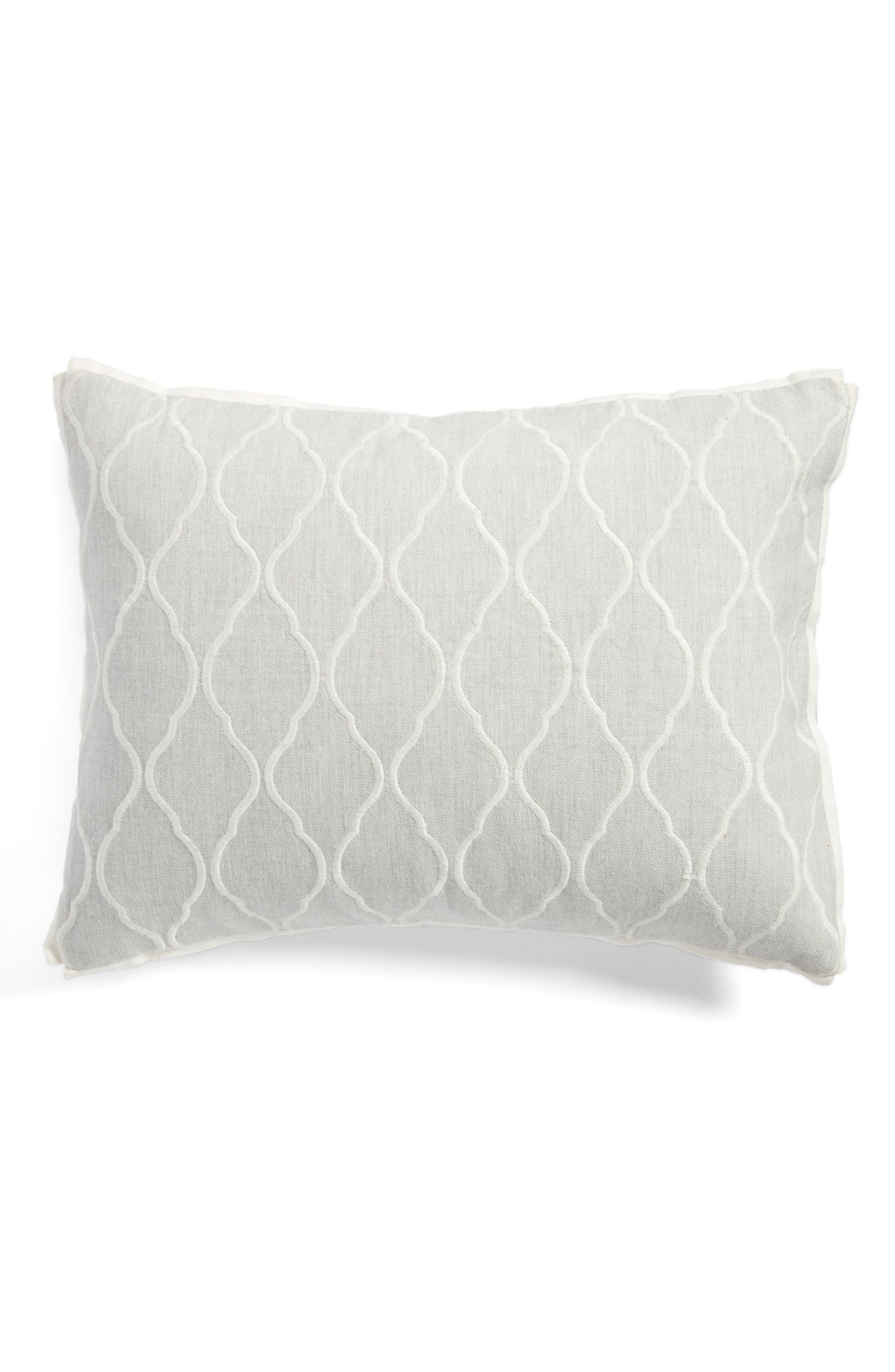 Vera Wang Fretwork Breakfast Pillow