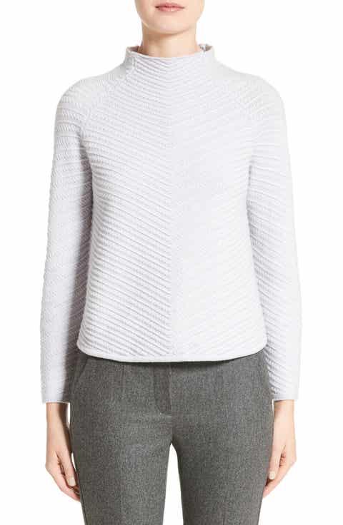 Armani Collezioni Wool   Cashmere Blend Sweater