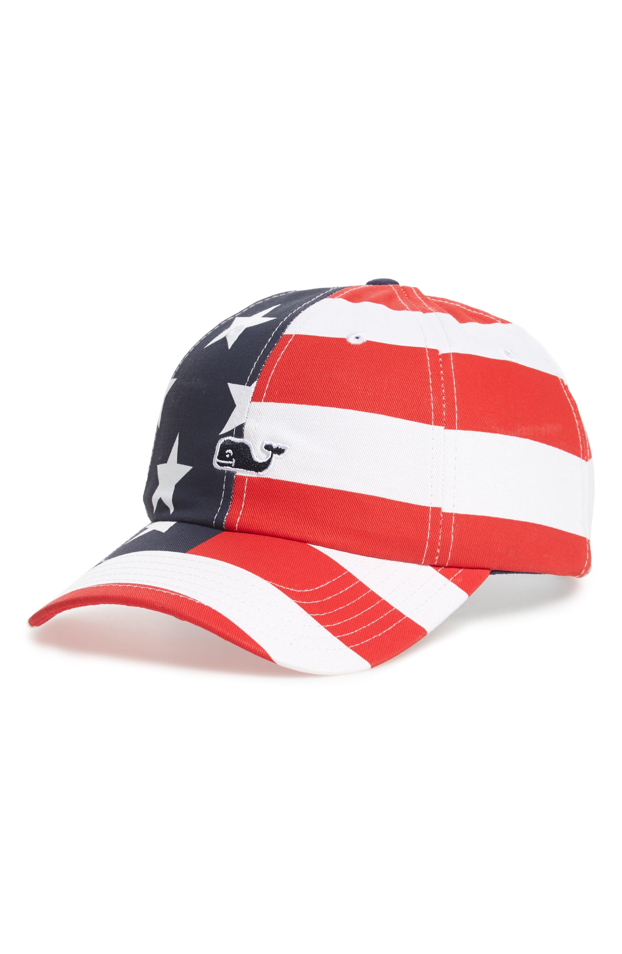 Vineyard Vines Americana Baseball Cap