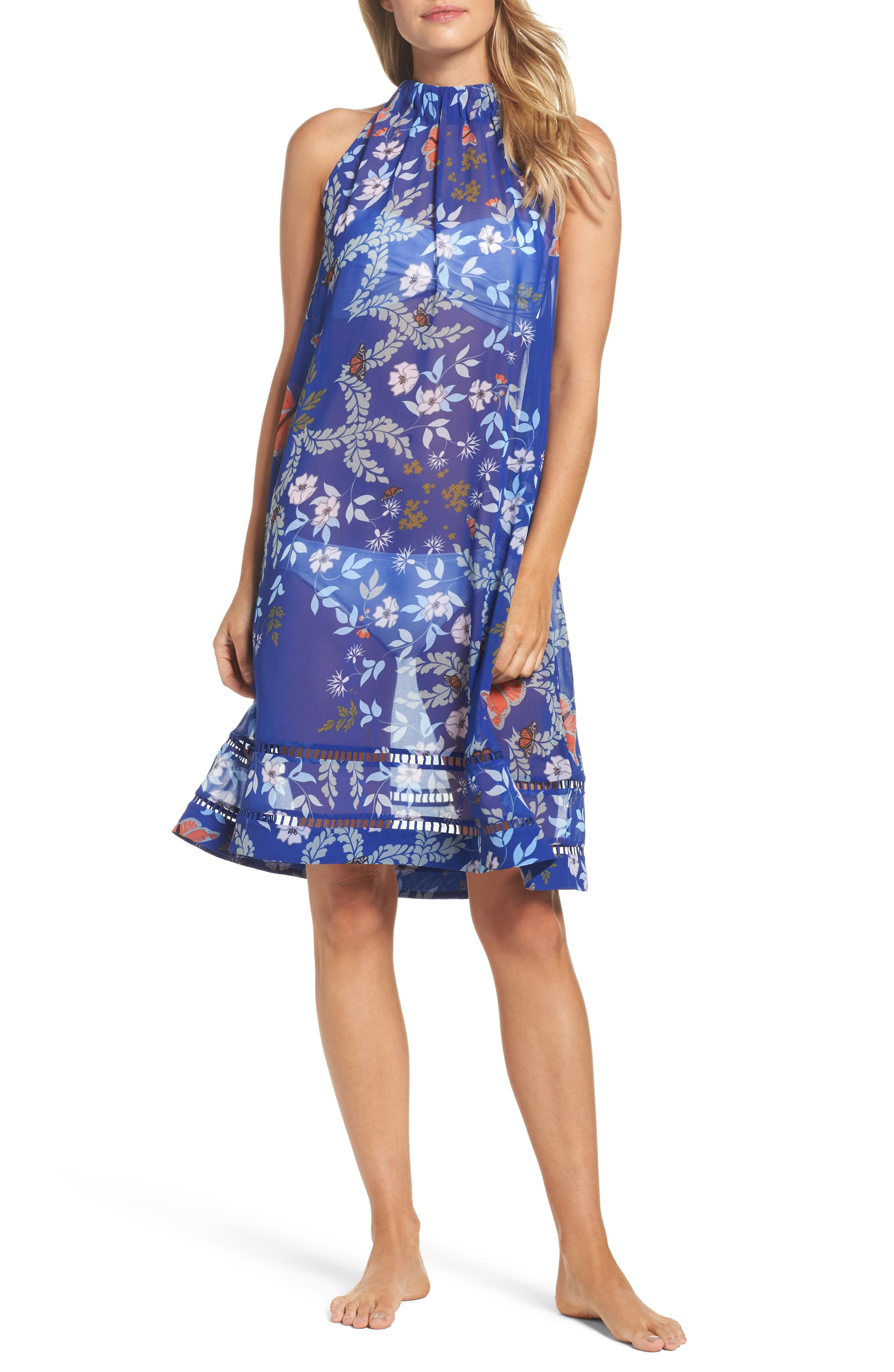 Ted Baker London Kyoto Halter Cover-Up Dress