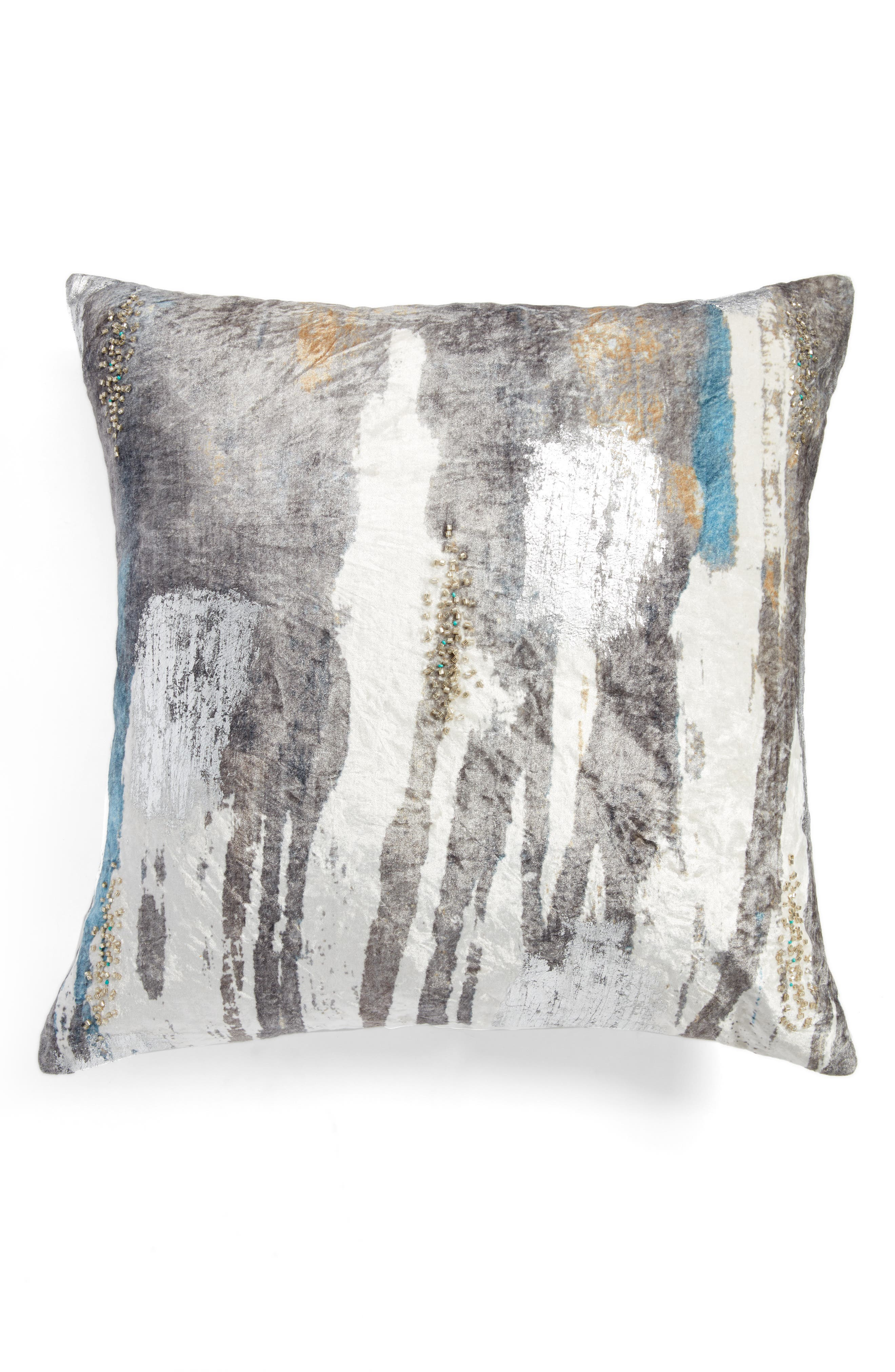 Cloud9 Designs Digital Print Velvet Accent Pillow