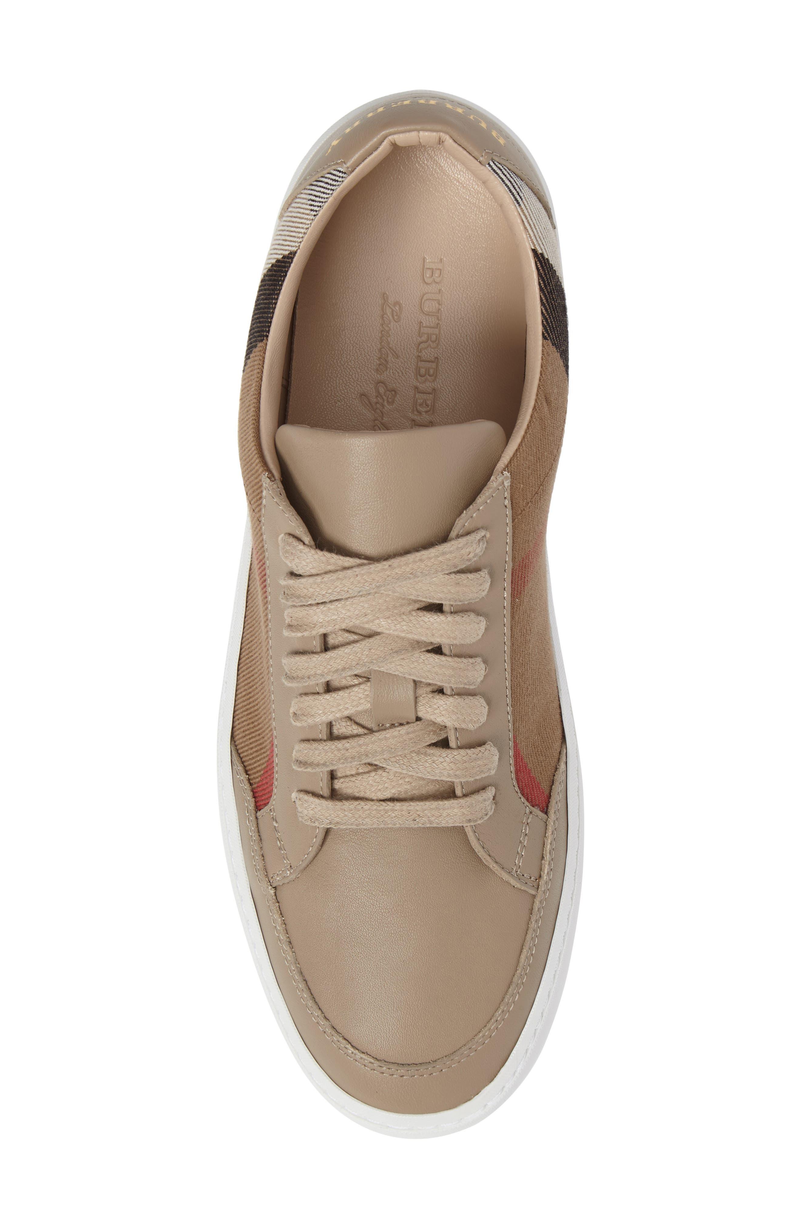 Alternate Image 5  - Burberry Salmond Sneaker (Women)