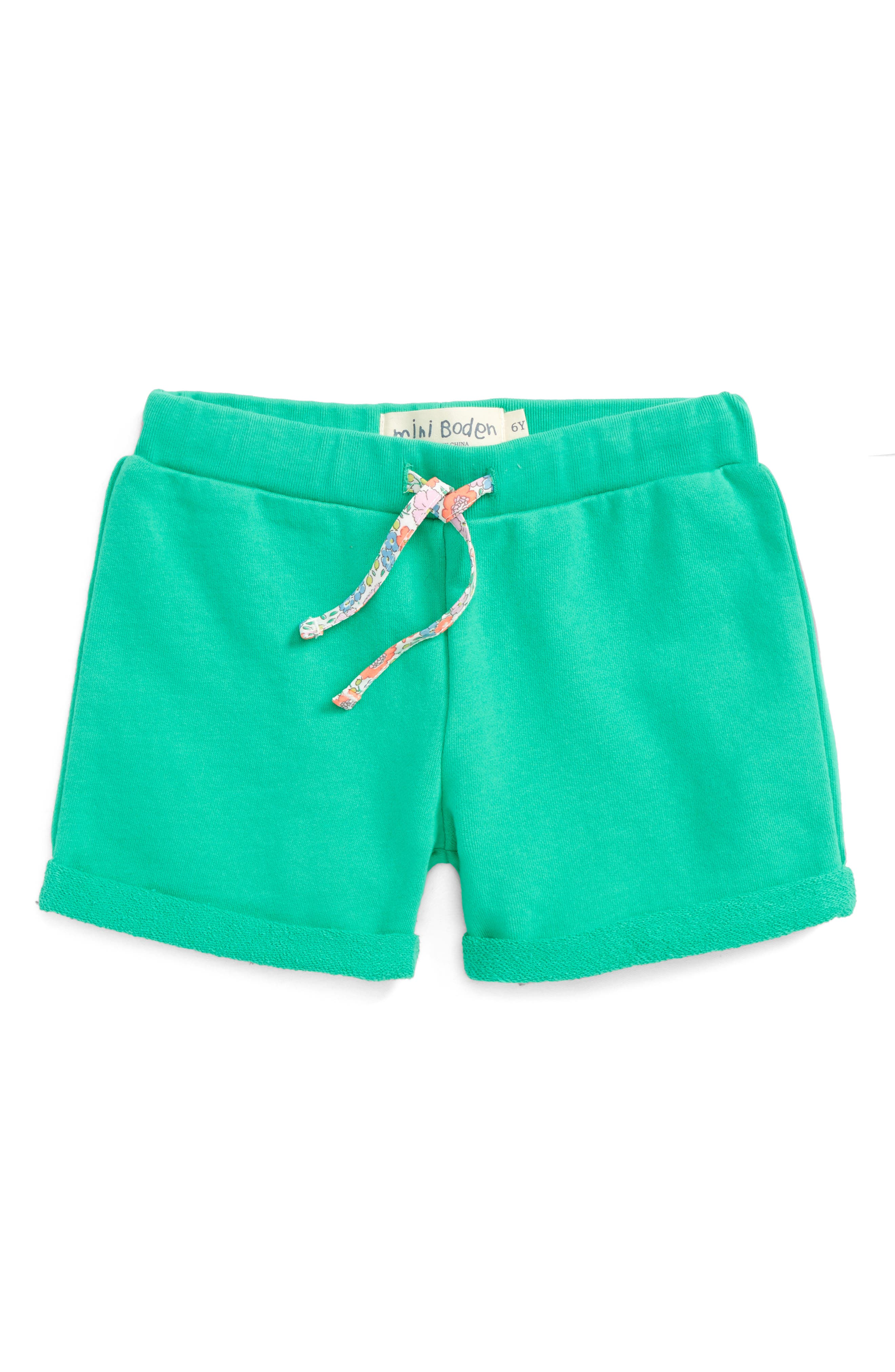 Mini Boden Jersey Shorts (Toddler Girls, Little Girls & Big Girls)