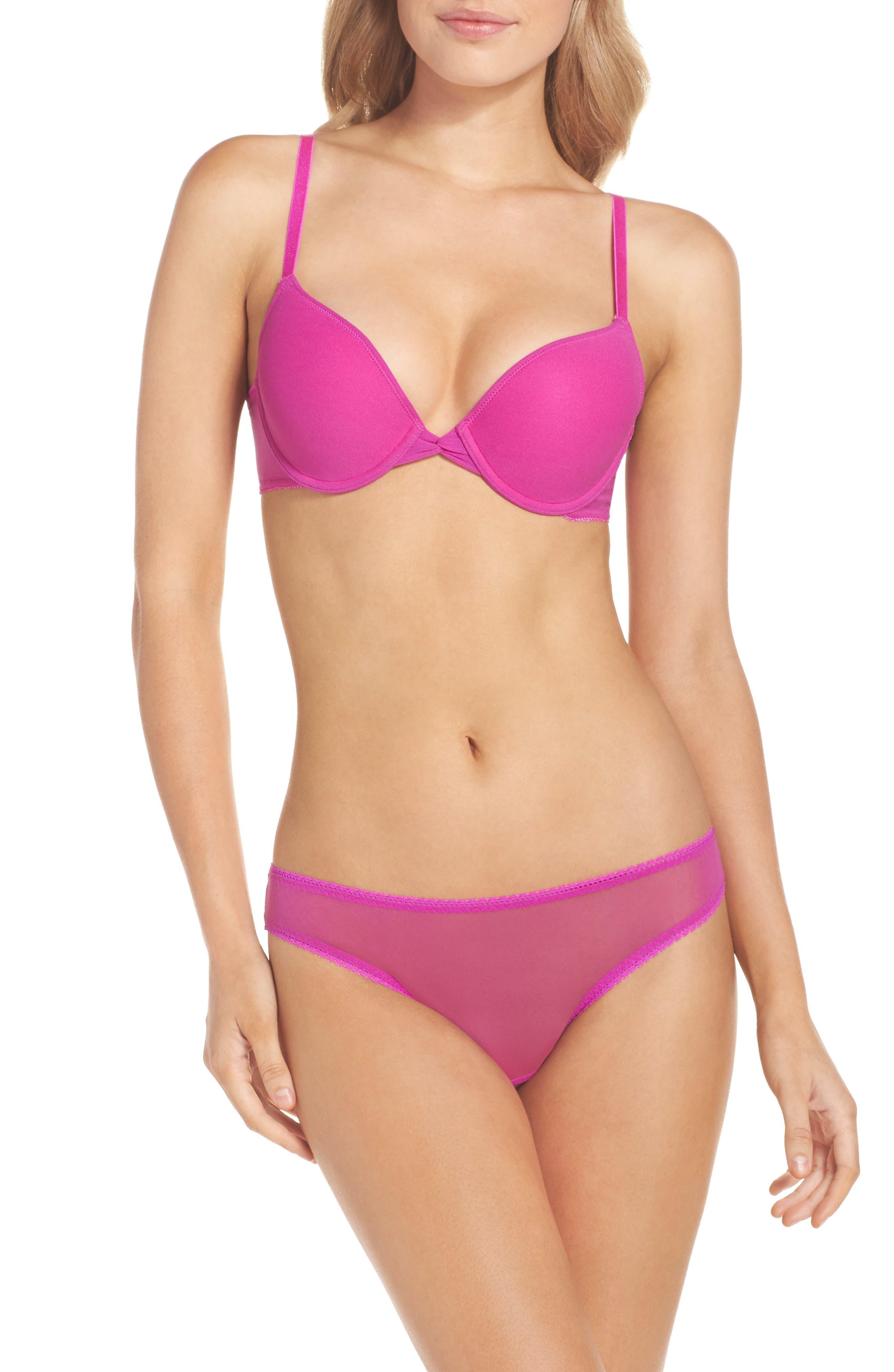Alternate Image 5  - On Gossamer Mesh Bikini (3 for $45)