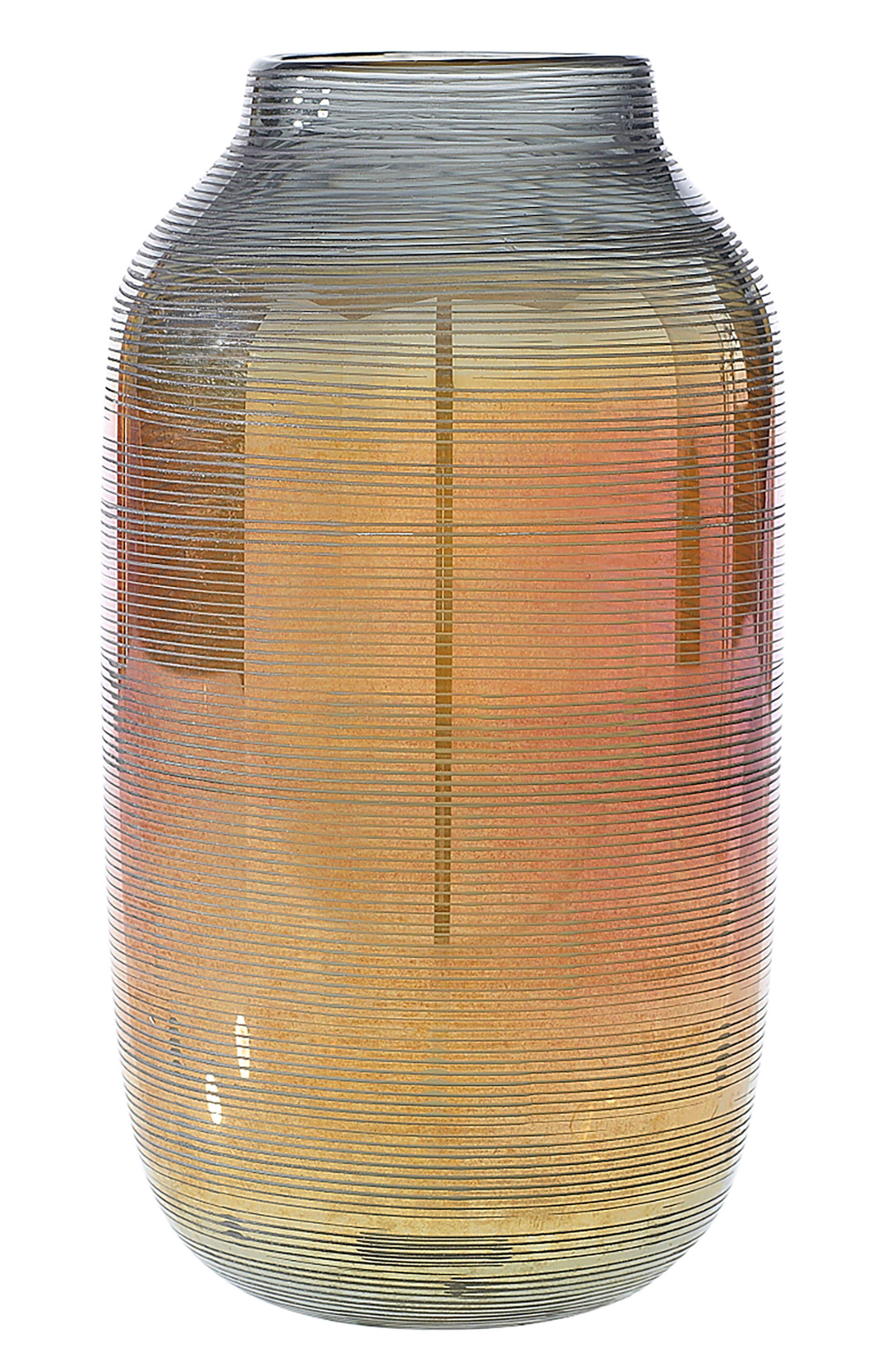 Accent Decor Onyx Glass Vase