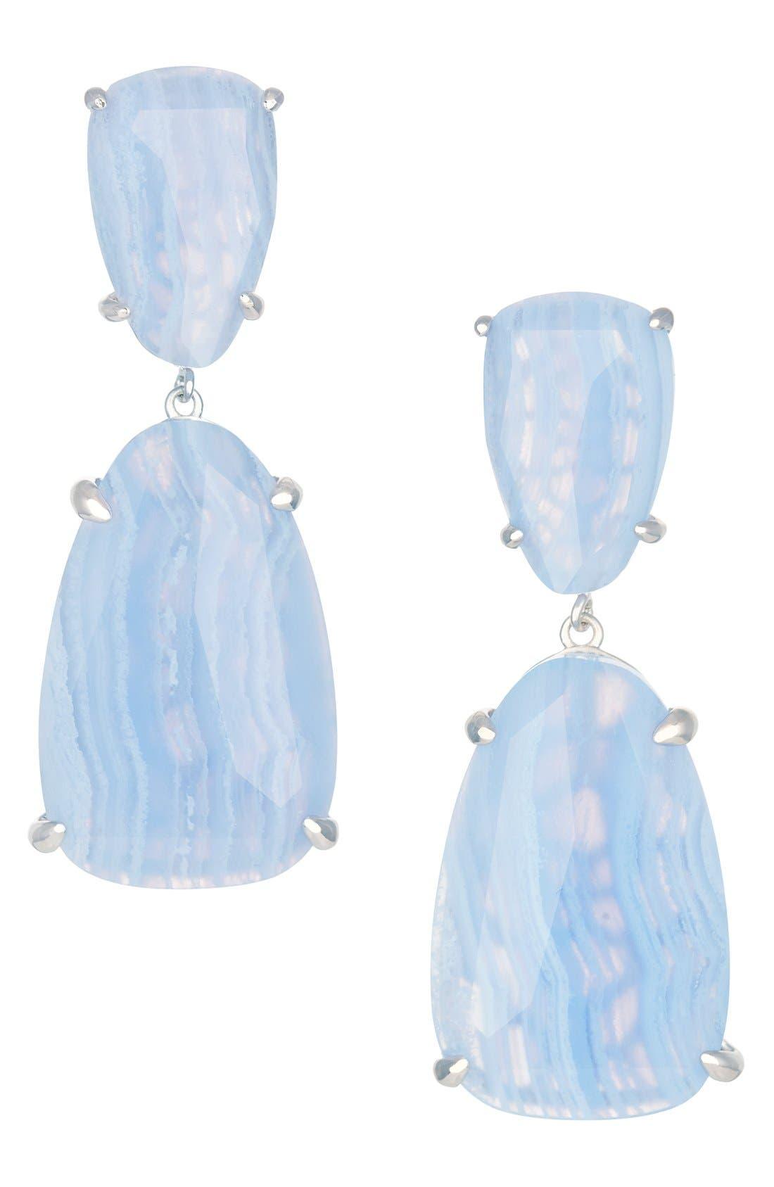 Alternate Image 1 Selected - Kendra Scott 'Katie' Stone Drop Earrings