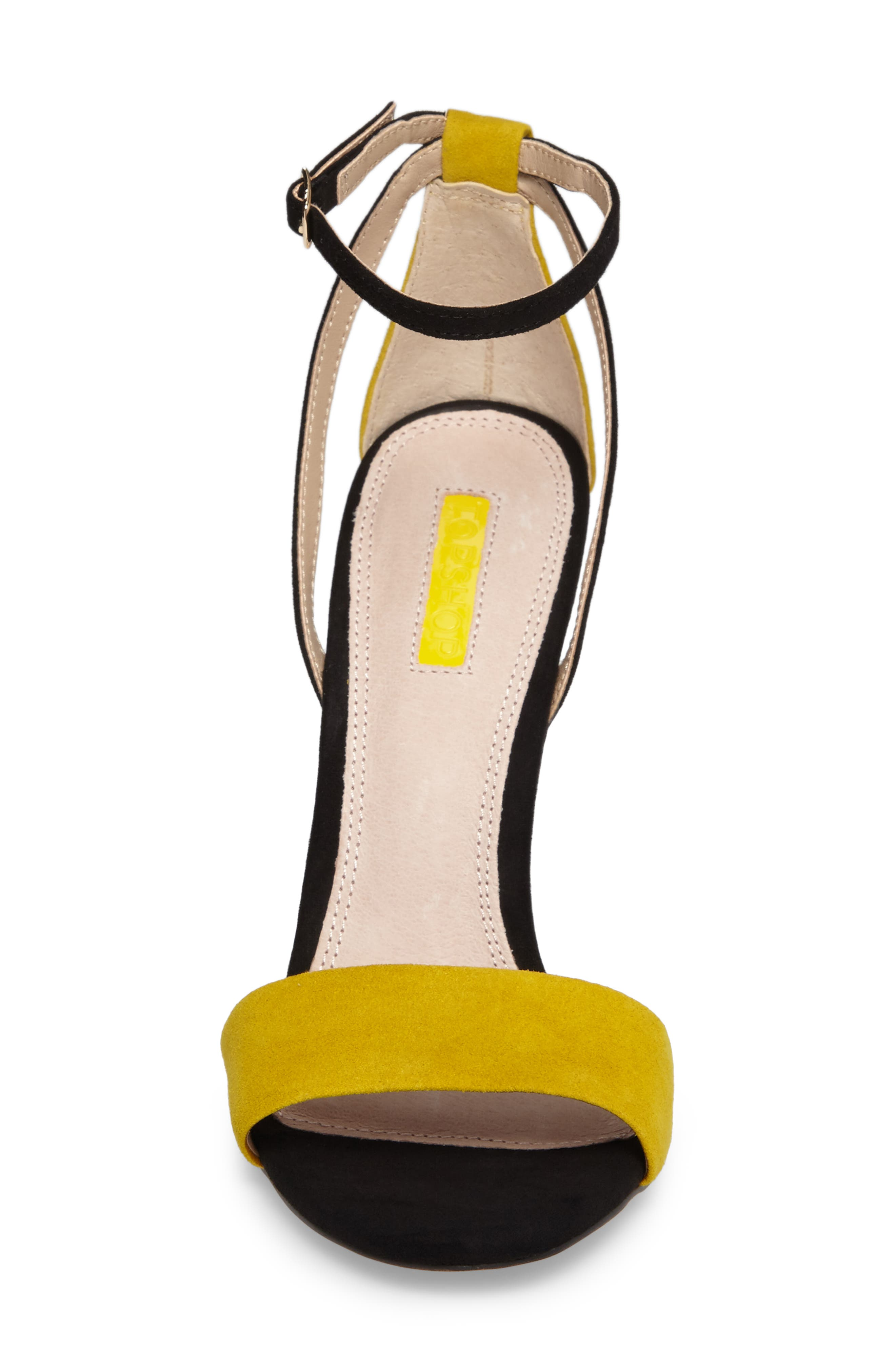 Alternate Image 4  - Topshop Raphael New Genuine Calf Hair Sandal (Women)