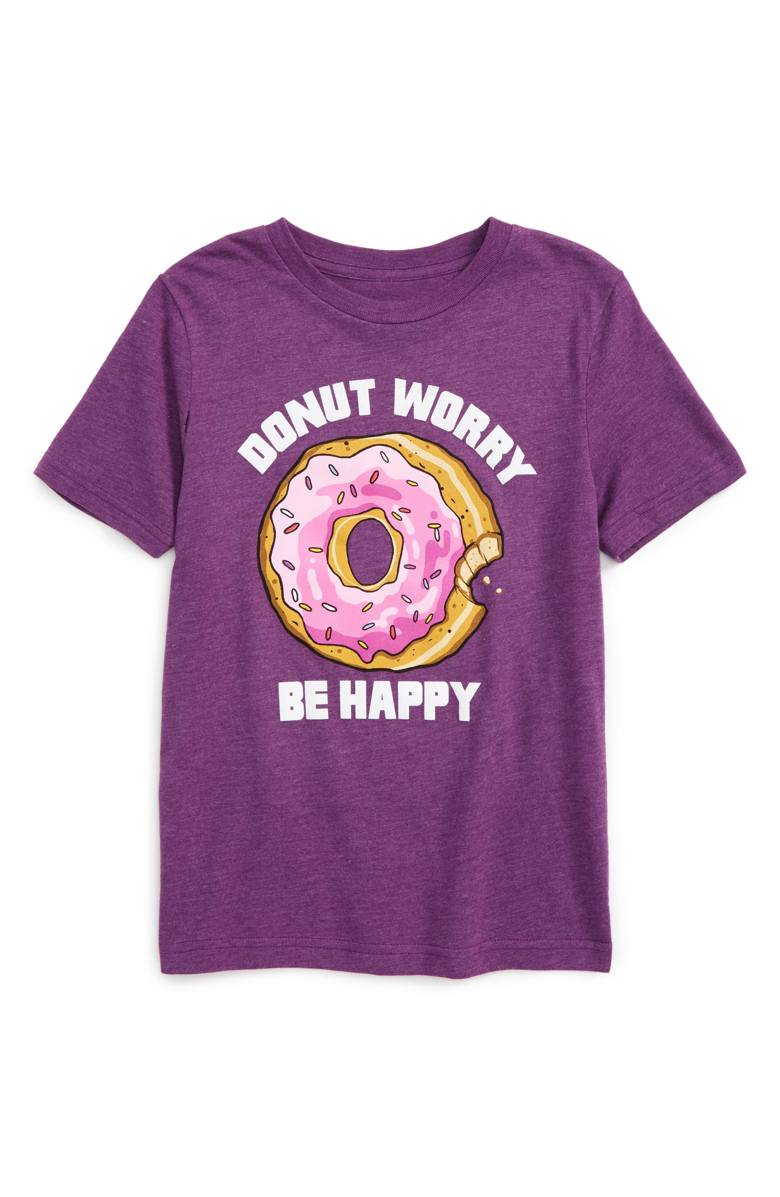 Jem Donut Worry Graphic T-Shirt (Toddler Boys & Little Boys)