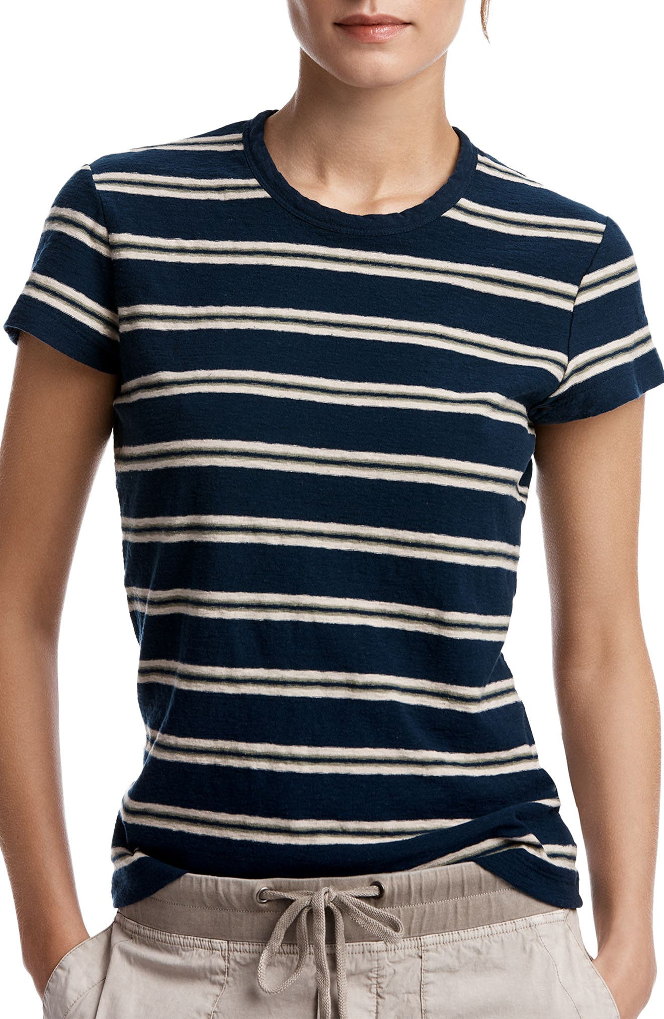 James Perse Retro Stripe Tee