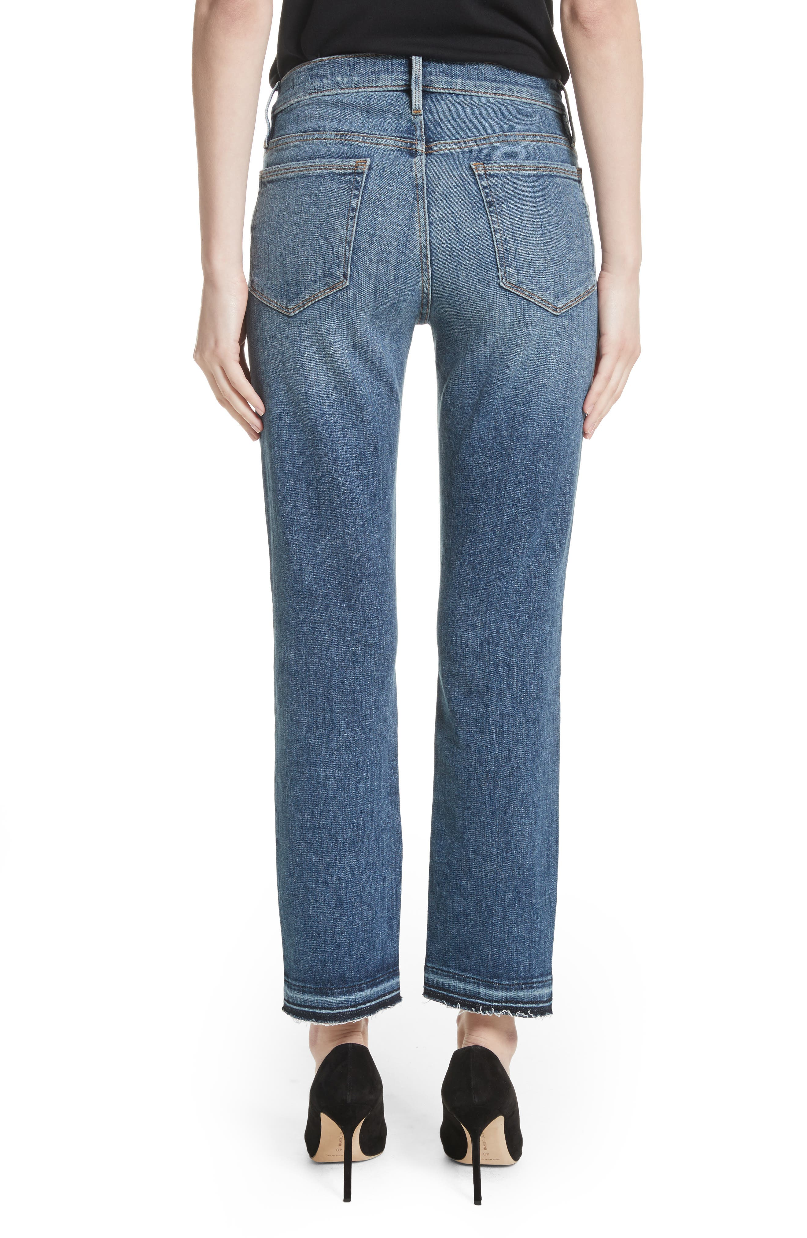 Alternate Image 3  - FRAME Le Nouveau Split Hem Jeans (Sheffield) (Nordstrom Exclusive)