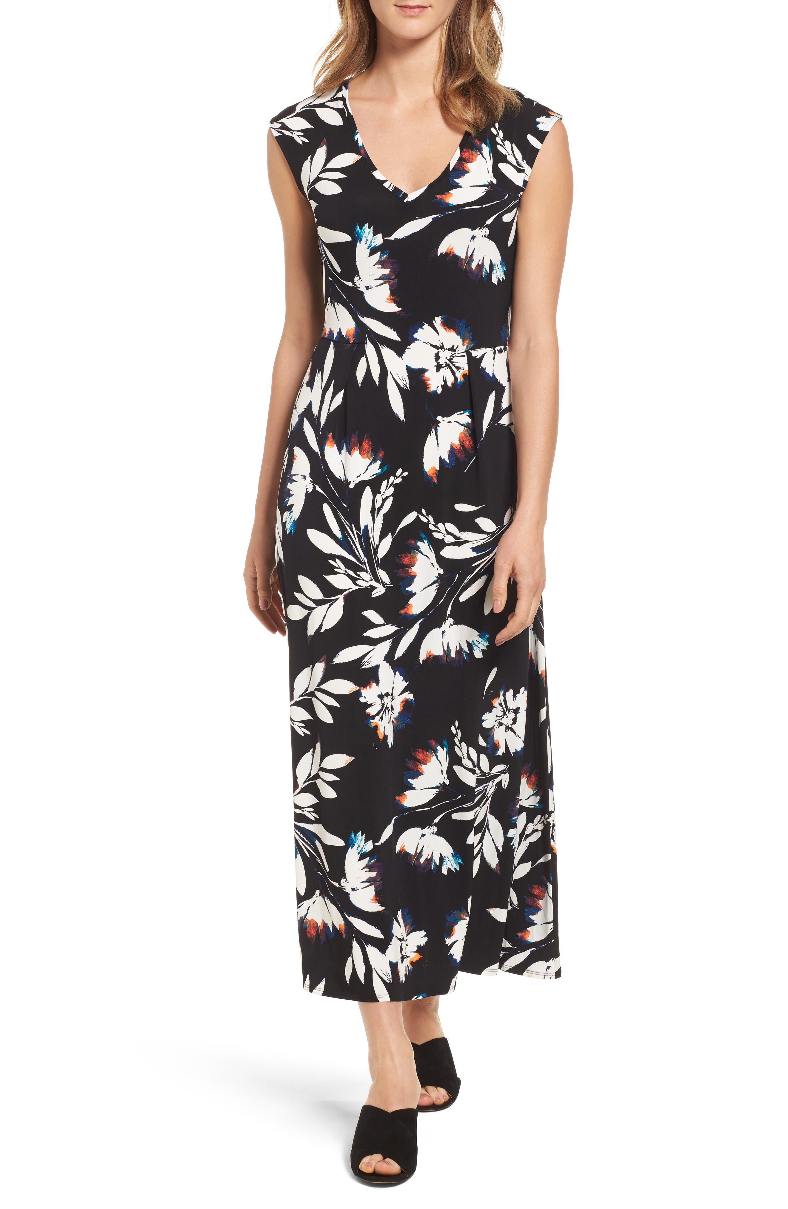 Chaus Floral Vision Maxi Dress