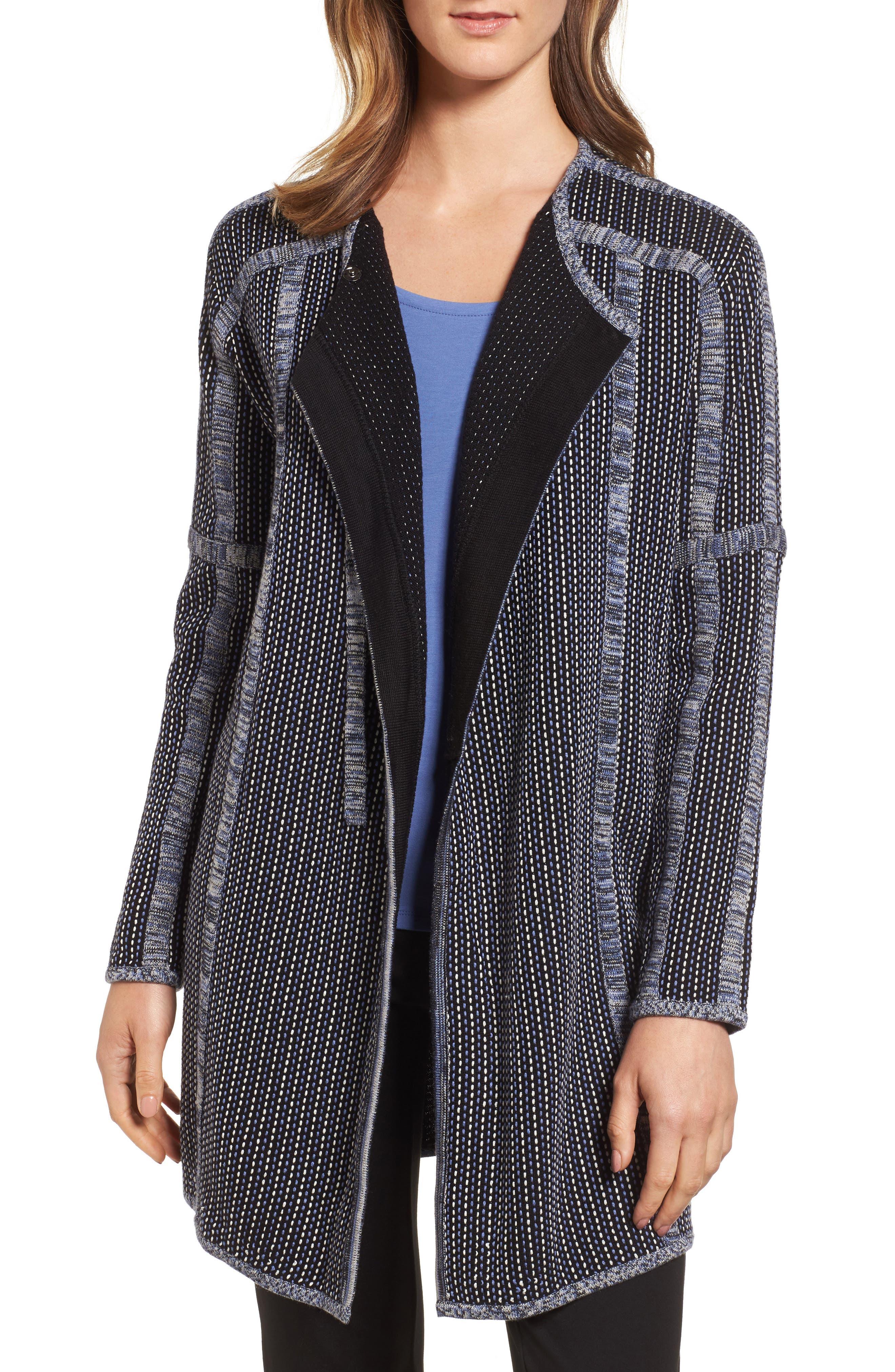 NIC+ZOE Nightsong Long Sweater Jacket