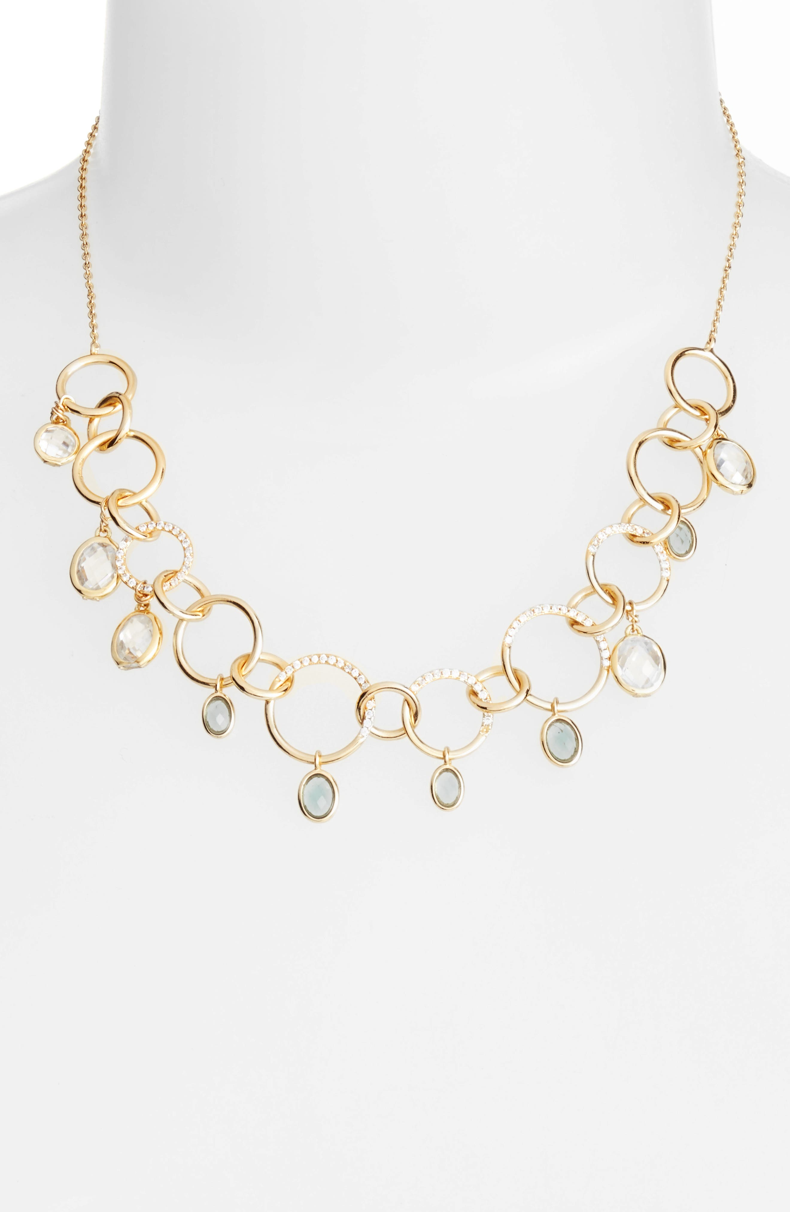 Melinda Maria Frontal Link Necklace