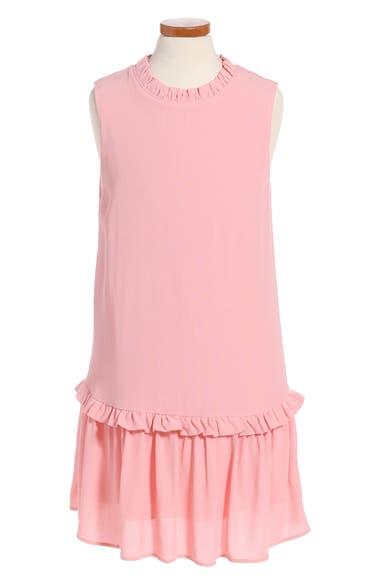 kate spade new york ruffle collar dress (Big Girls)
