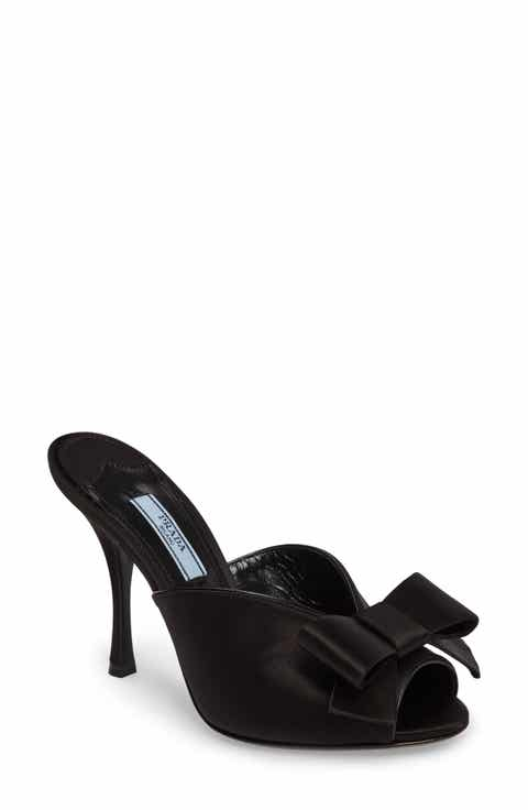 Prada Bow Sandal (Women)