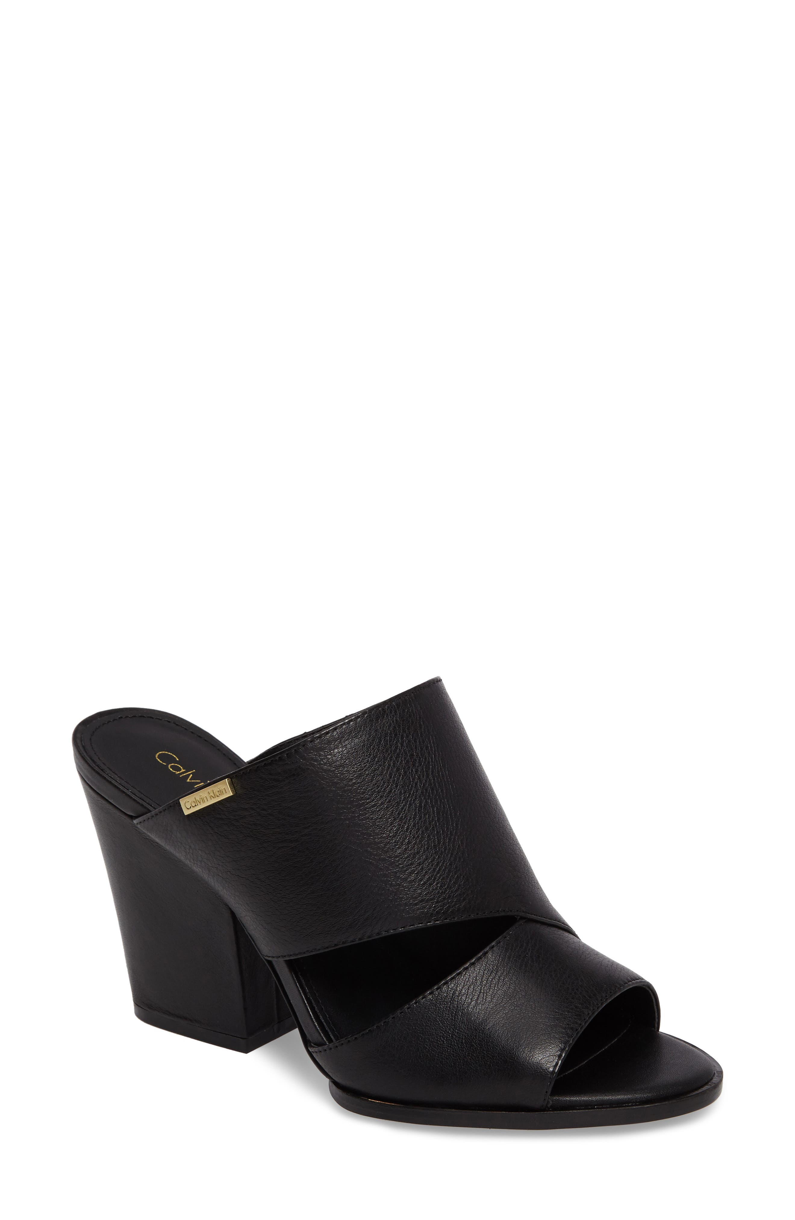 Calvin Klein Wiley Asymmetrical Mule (Women)