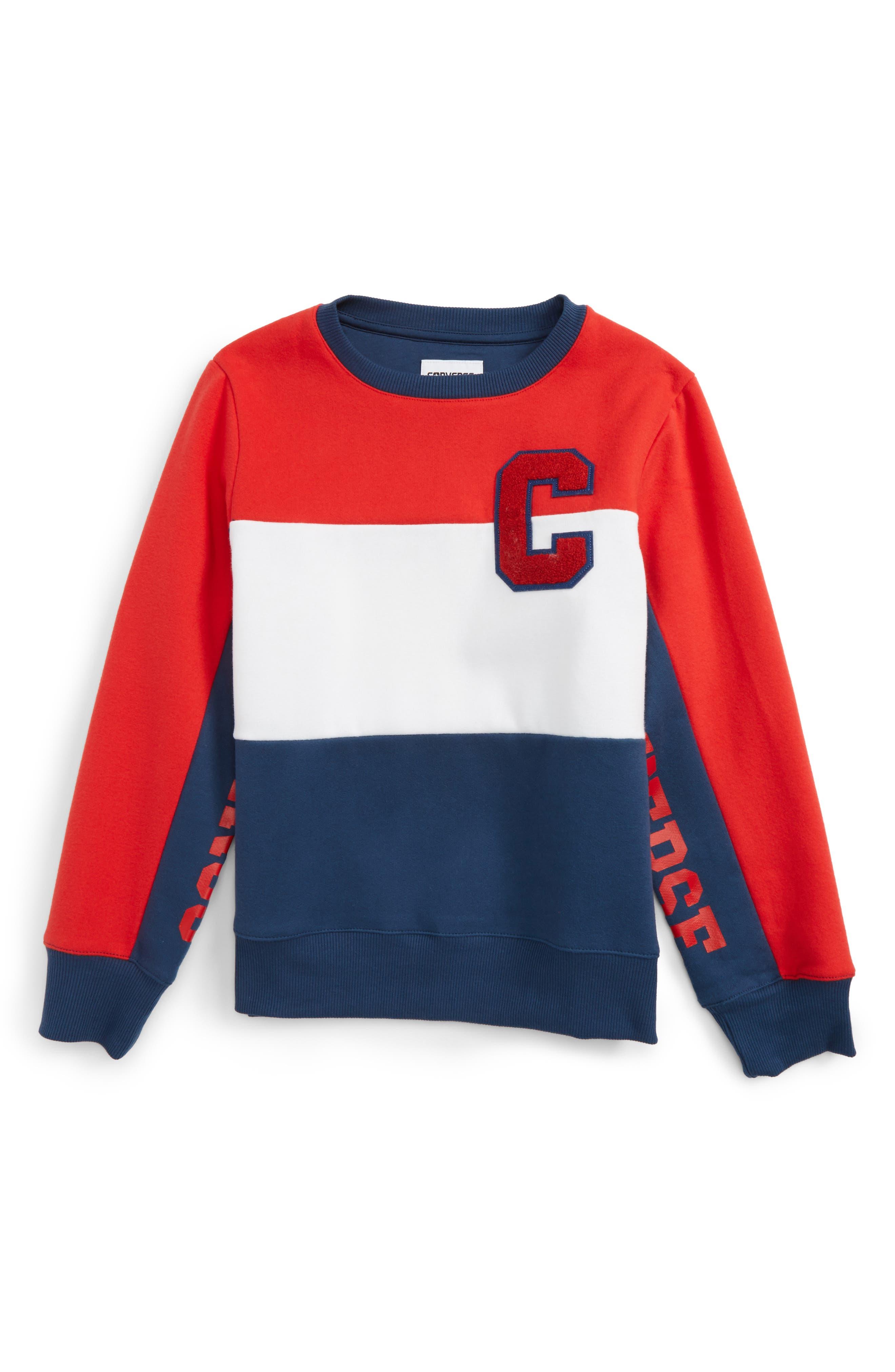 Converse Colorblock Sweatshirt (Big Boys)