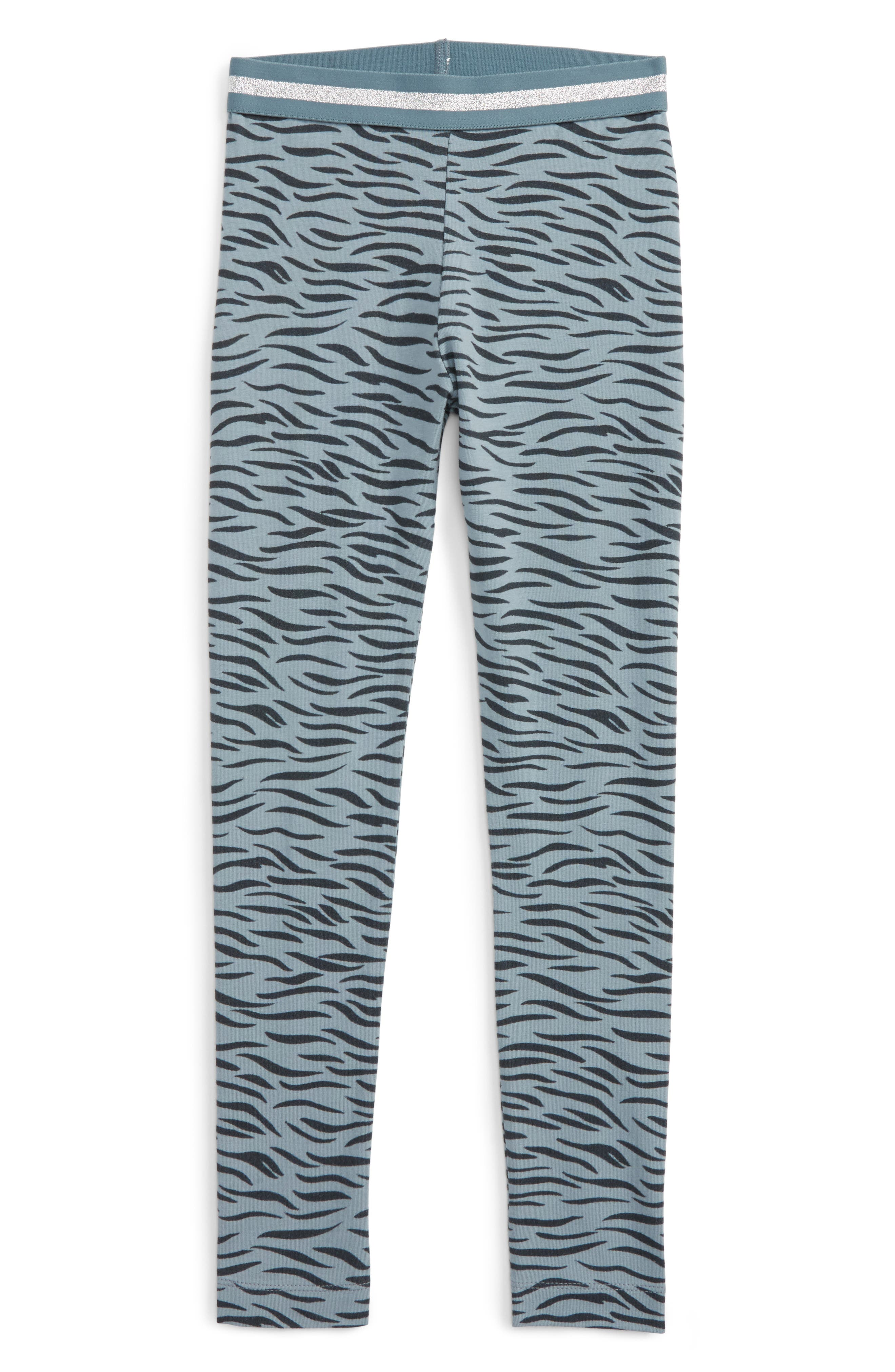 Stella McCartney Kids Tula Tiger Print Leggings (Little Girls & Big Girls)