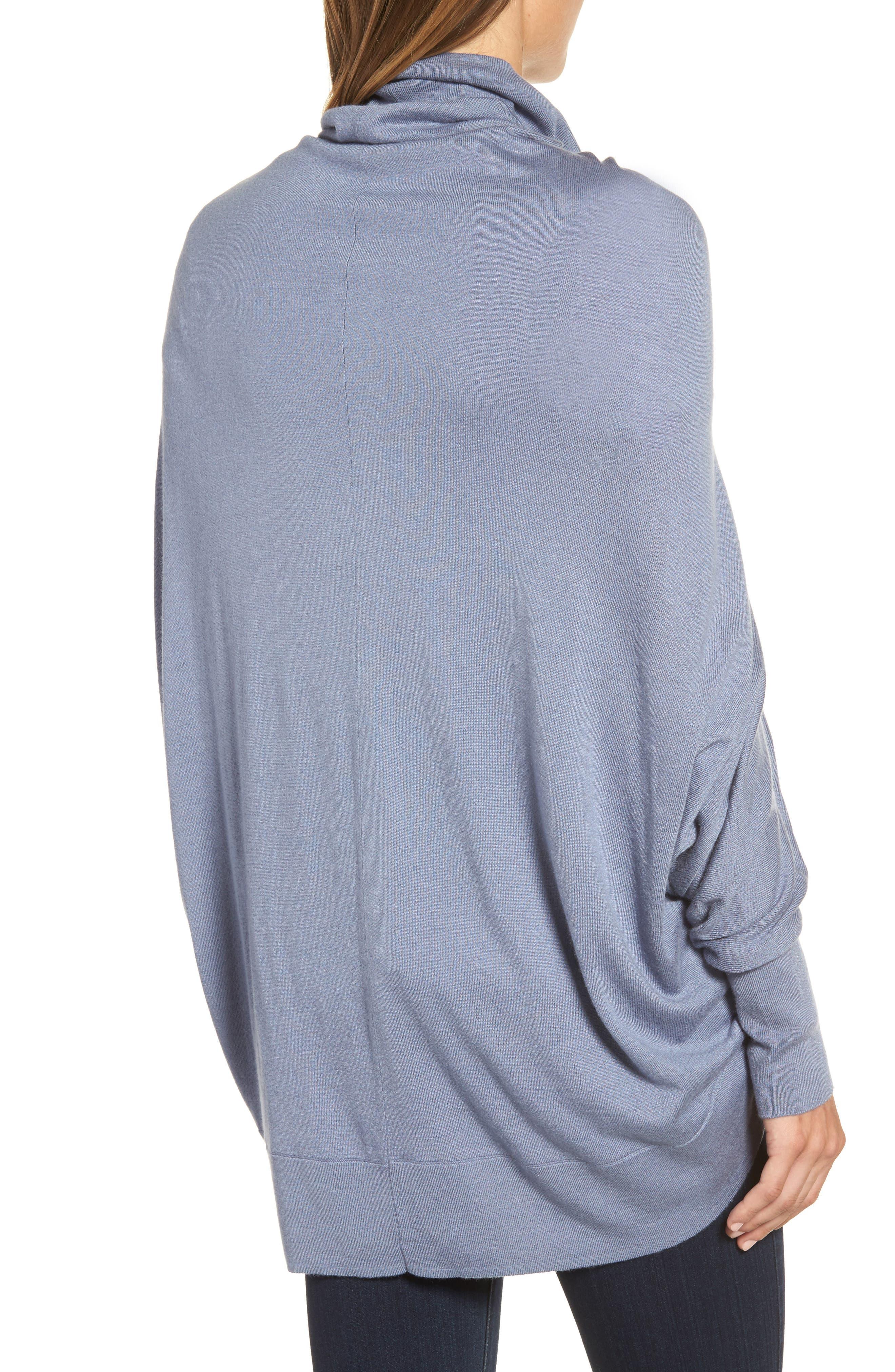 Alternate Image 2  - Nordstrom Knit Cocoon Cardigan