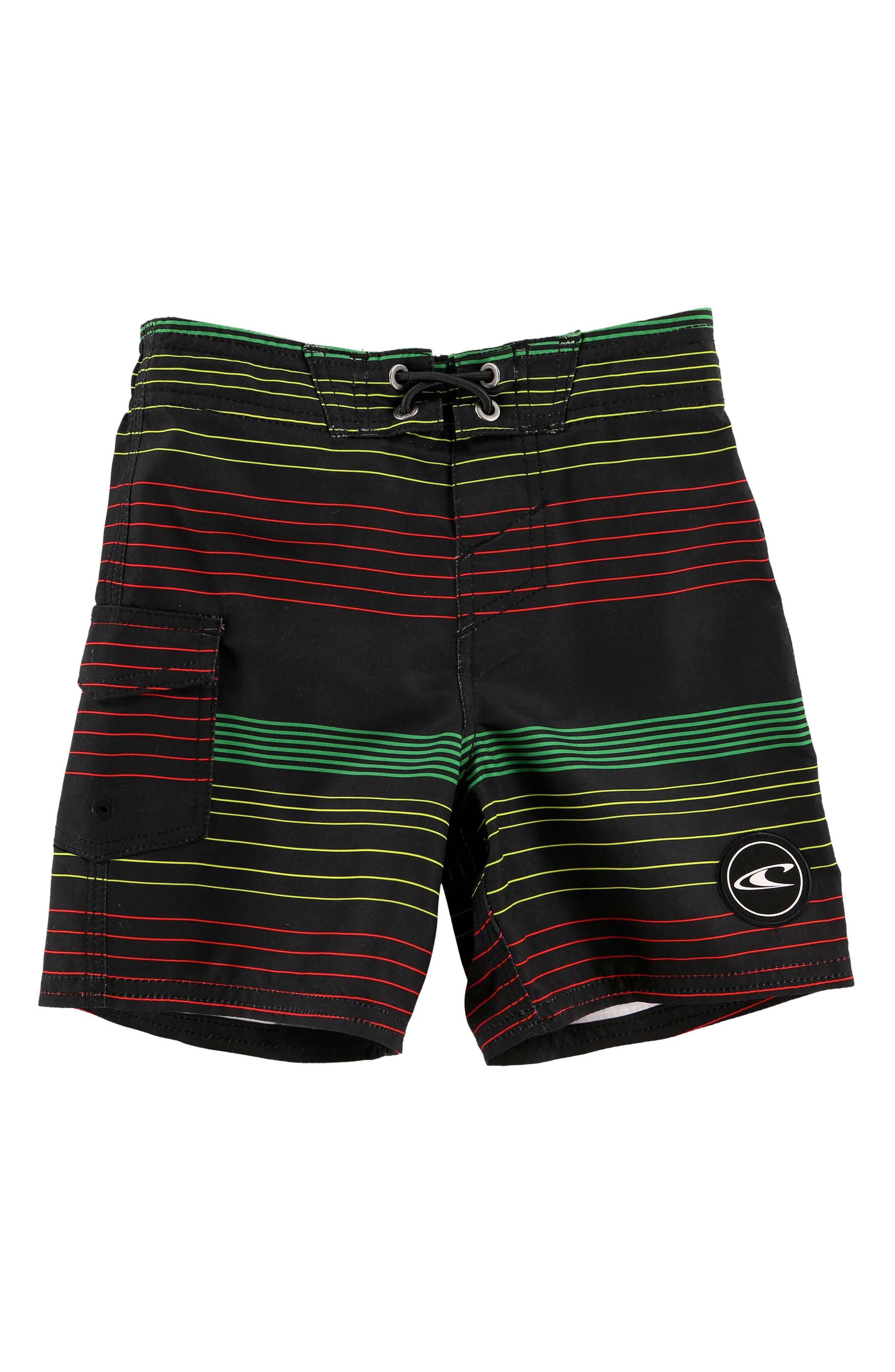 O'Neill Santa Cruz Stripe Board Shorts (Big Boys)