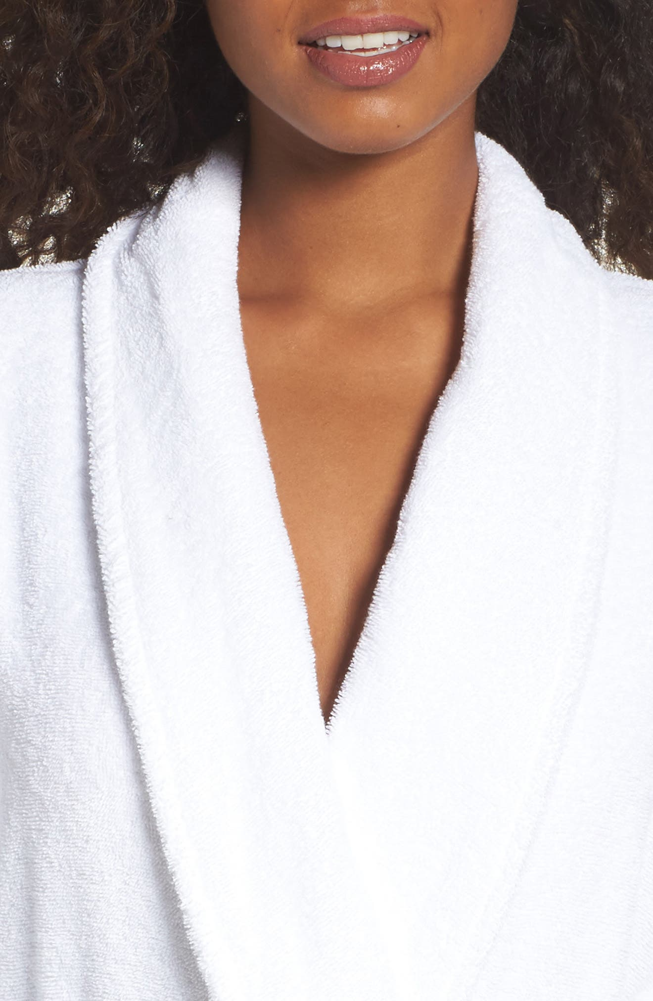 Alternate Image 5  - Nordstrom Lingerie Terry Robe