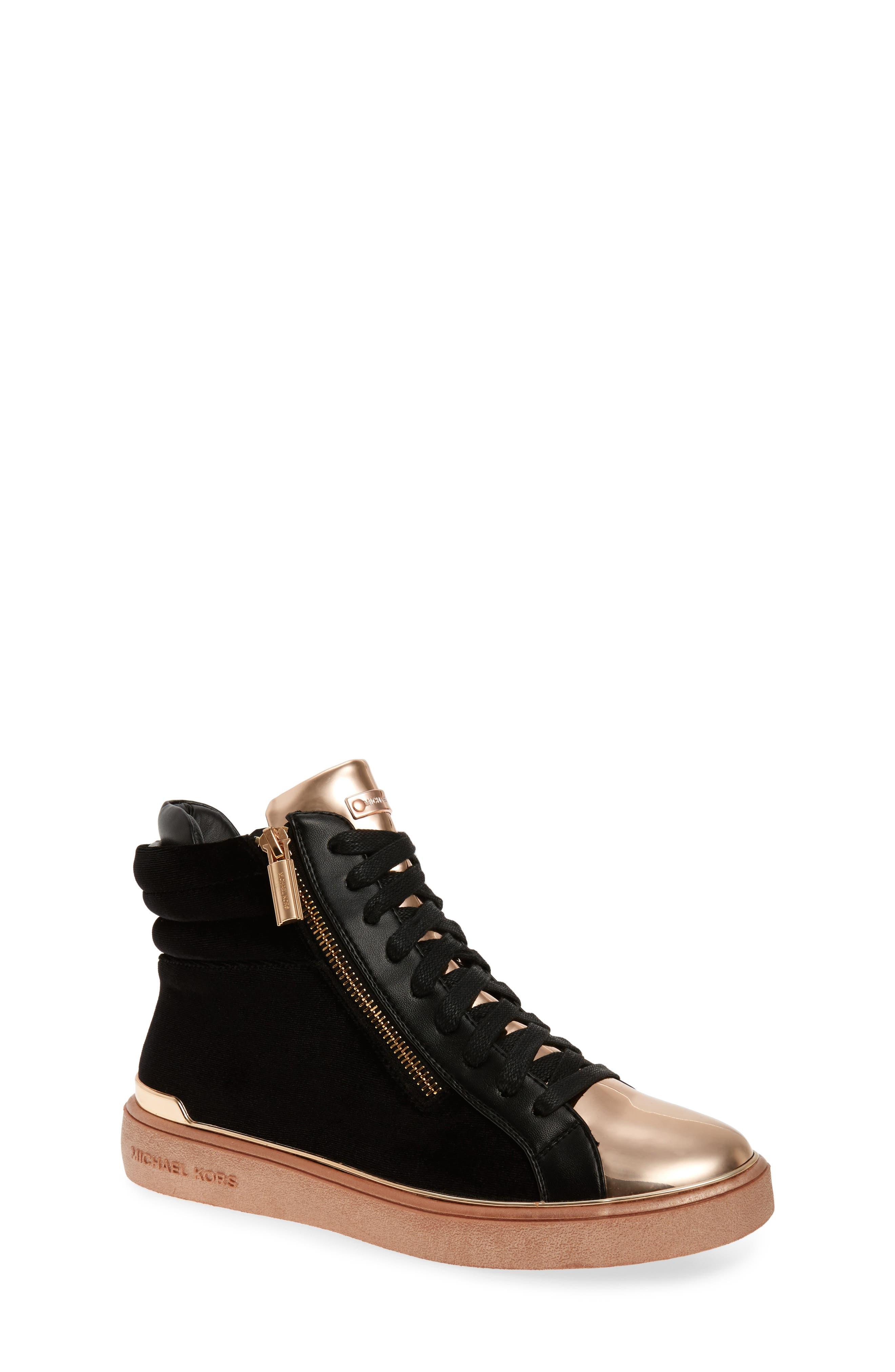 MICHAEL Michael Kors Ivy Blue High Top Sneaker (Walker, Toddler, Little Kid & Big Kid)