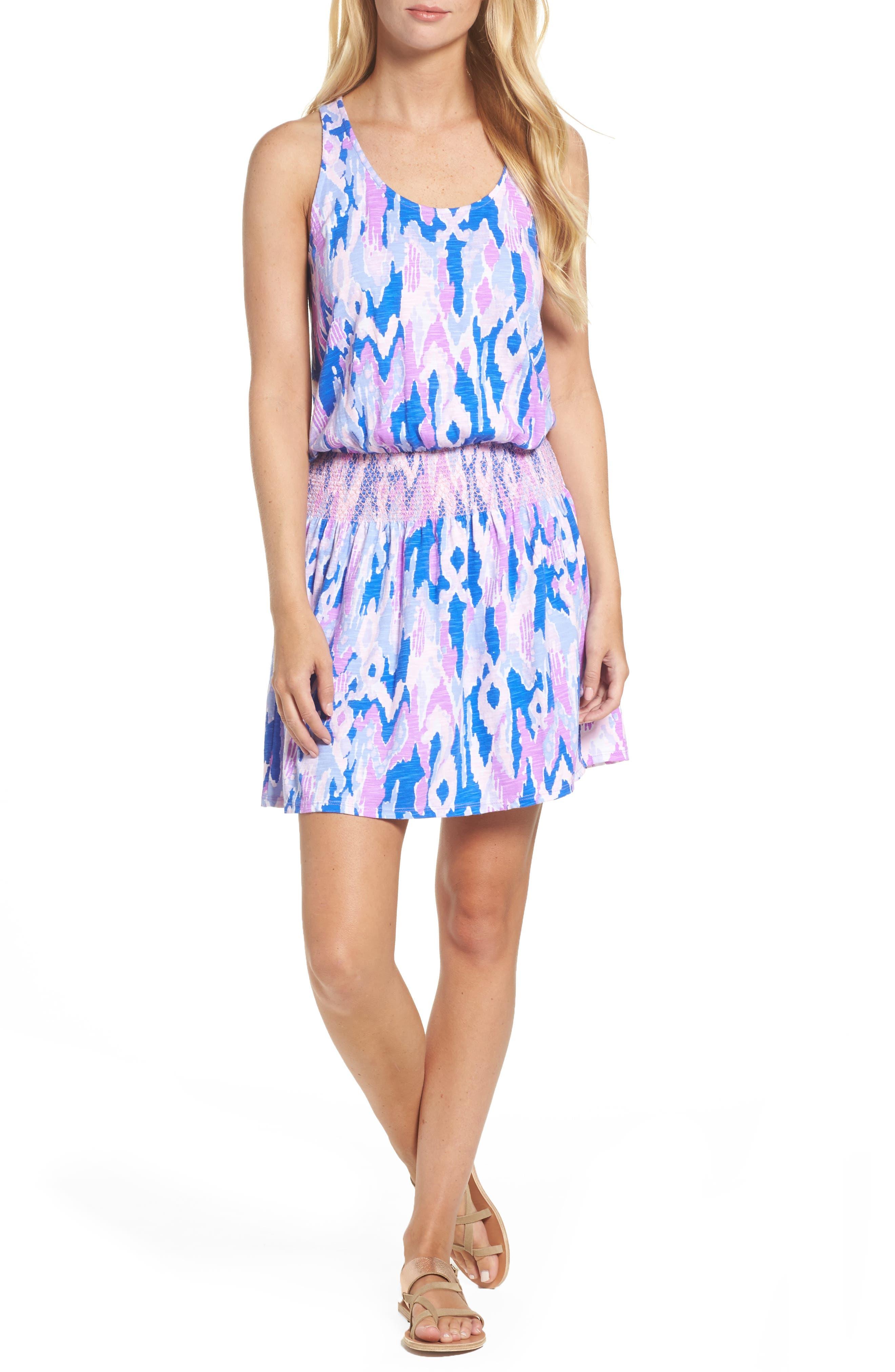 Lilly Pulitzer® Tideline Racerback Blouson Dress