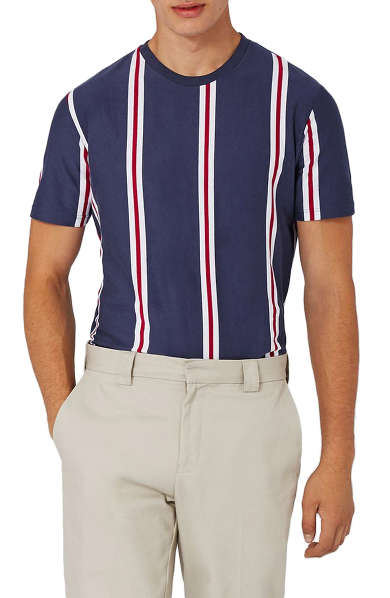 Topman Hector Stripe T-Shirt
