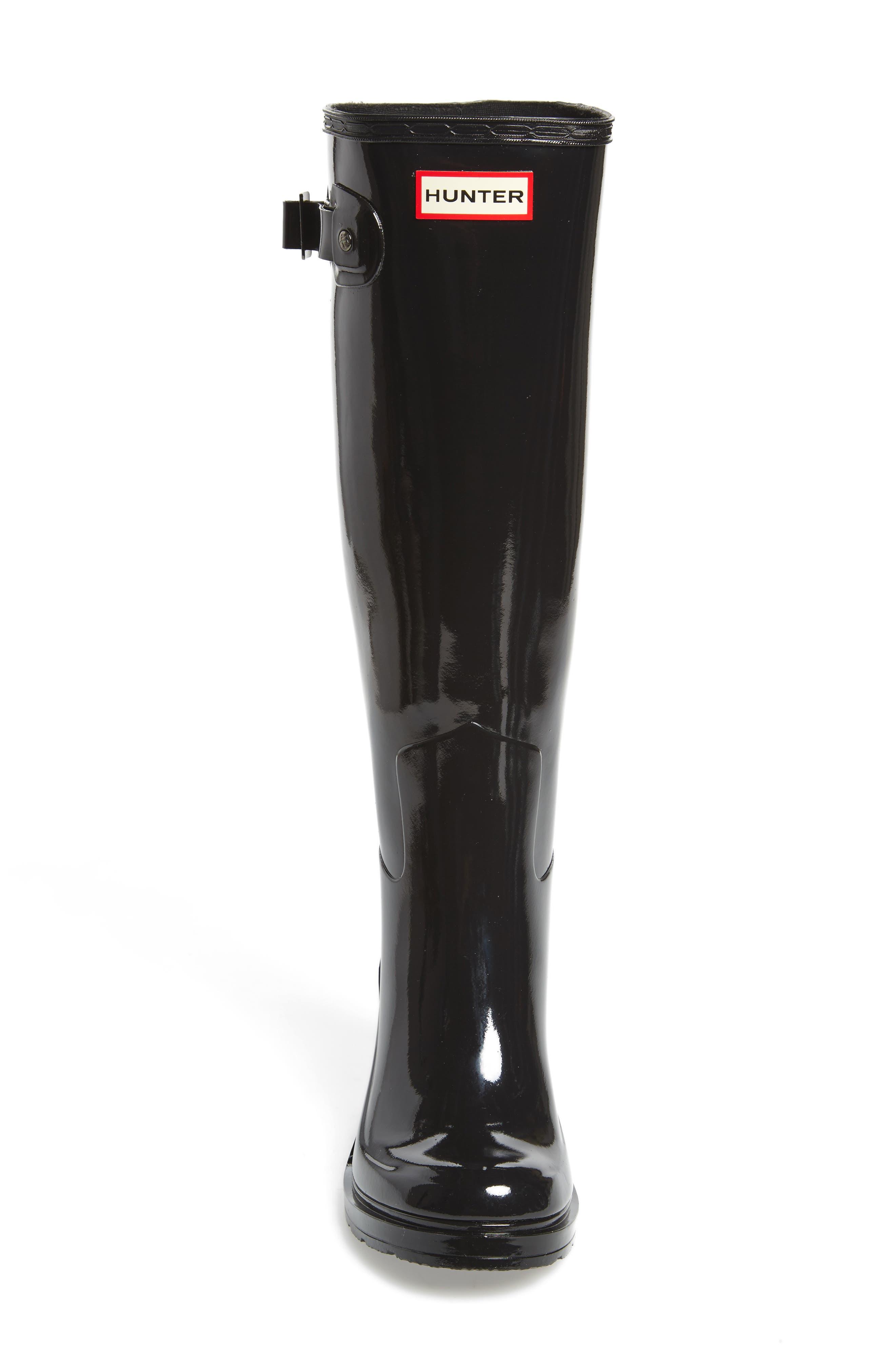 Alternate Image 4  - Hunter Original Refined Wedge Rain Boot (Women)