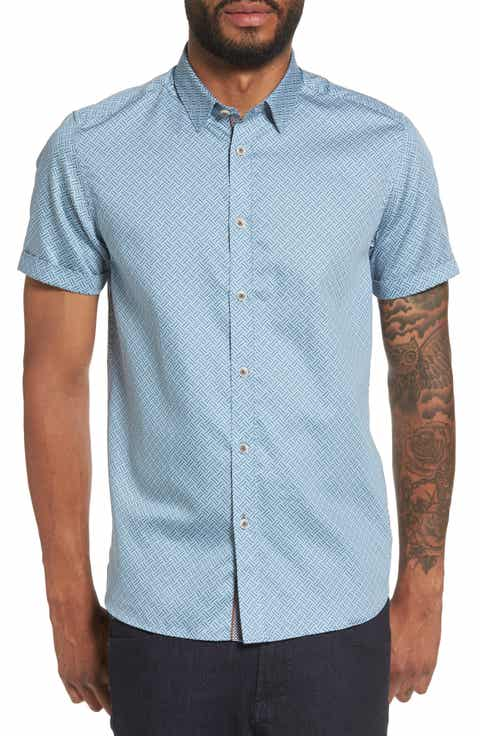 Ted baker london men 39 s casual button down shirts clothing for Ted baker shirts sale online