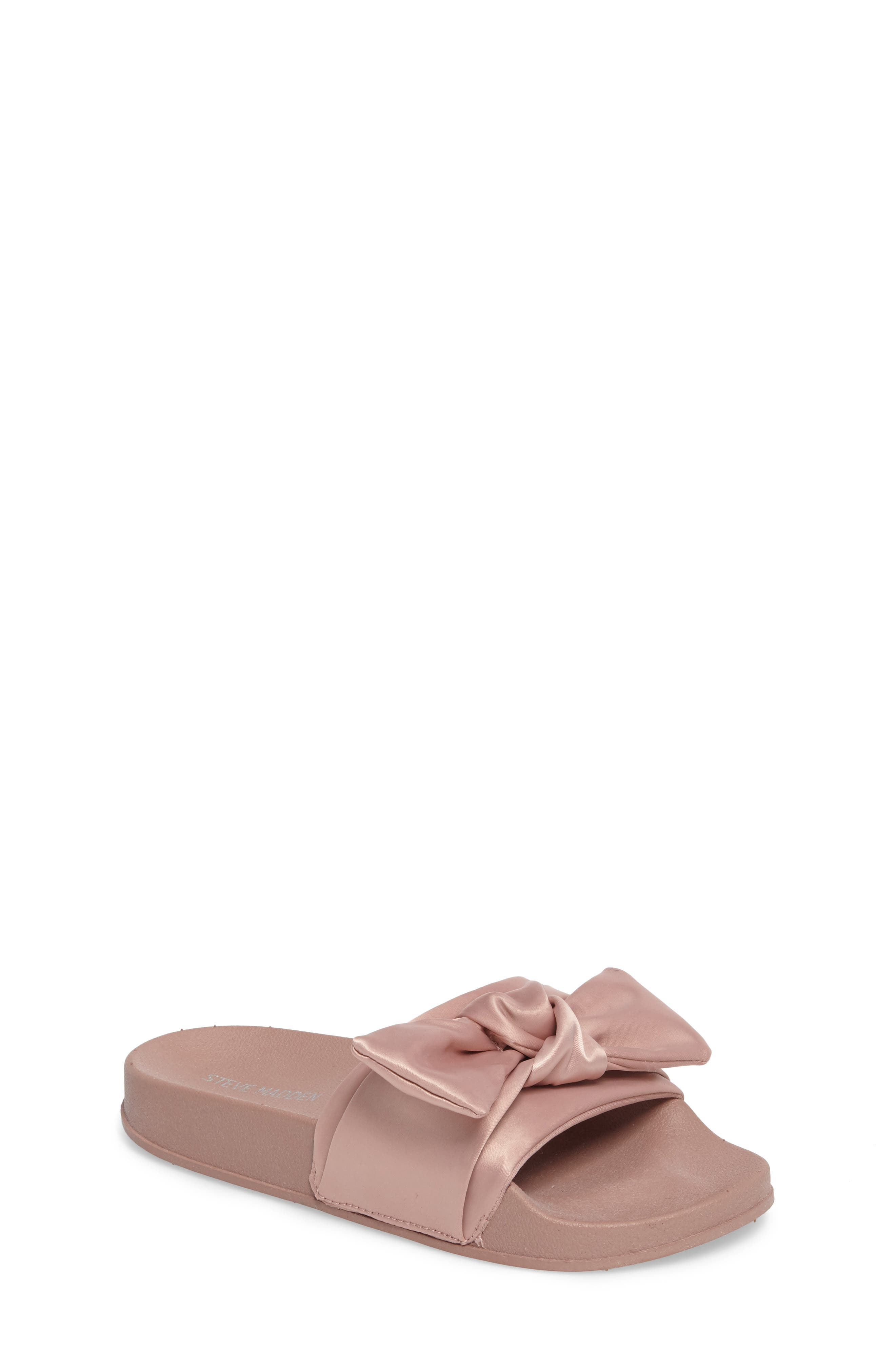 Steve Madden JSilky Slide Sandal (Little Kid & Big Kid)