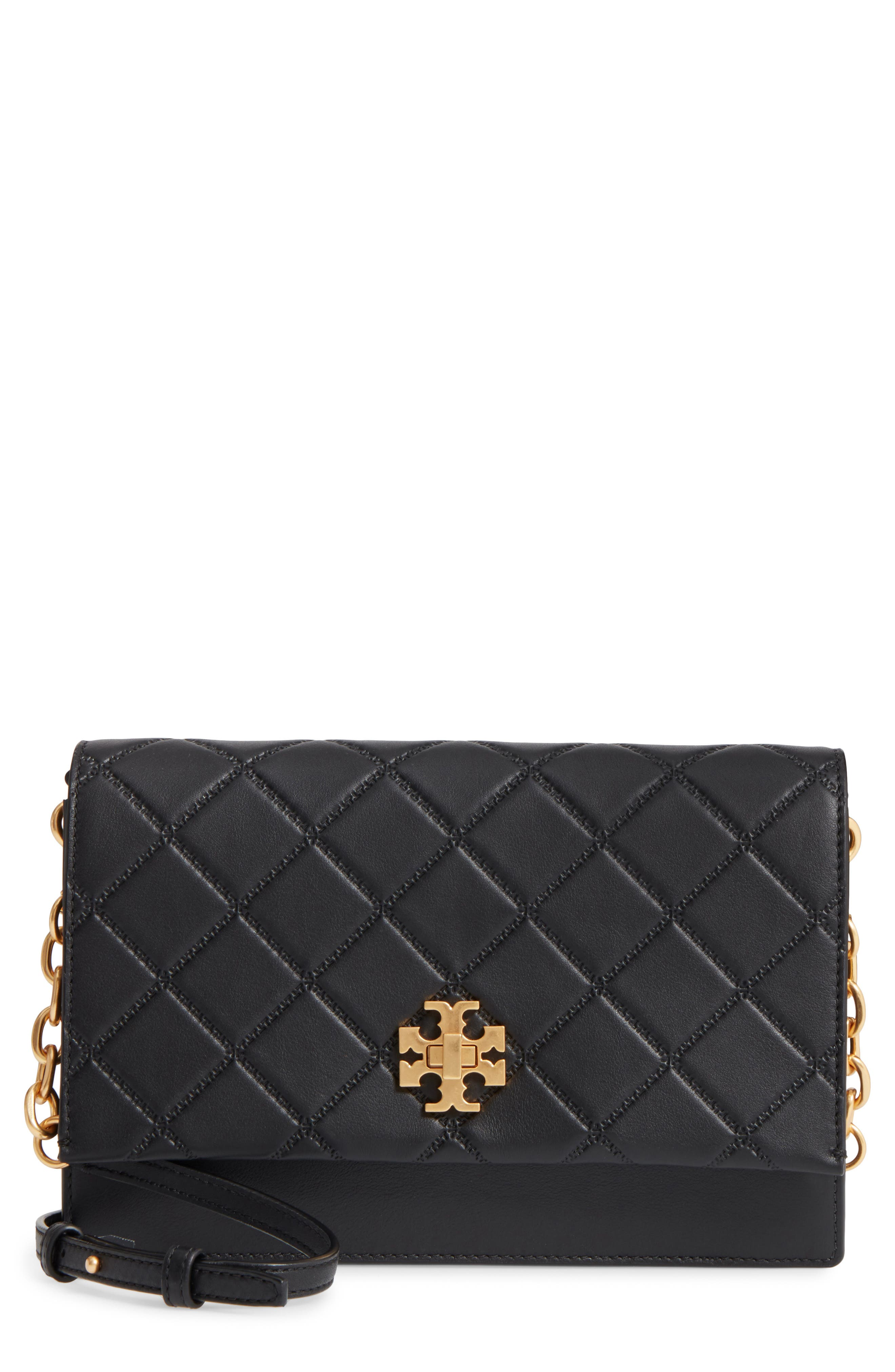 Tory Burch Georgia Quilted Leather Shoulder Bag