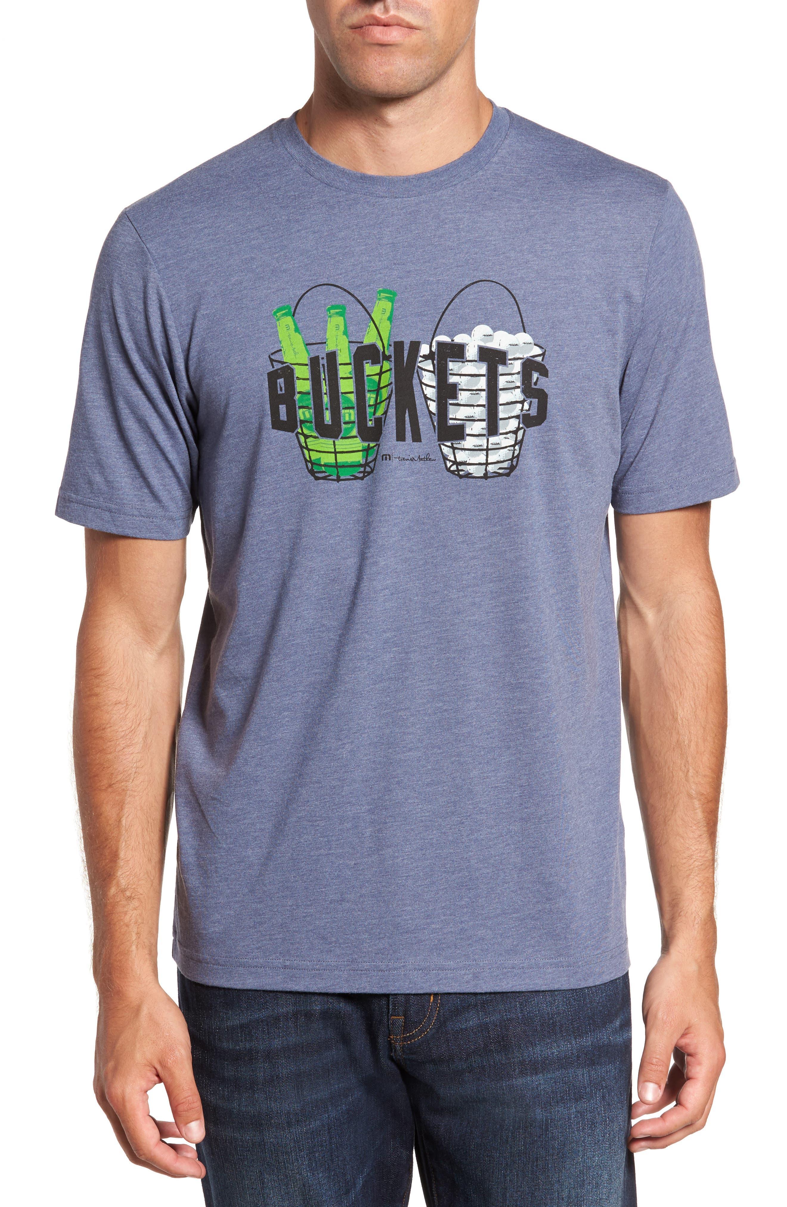Travis Mathew 'Buckets' Graphic T-Shirt