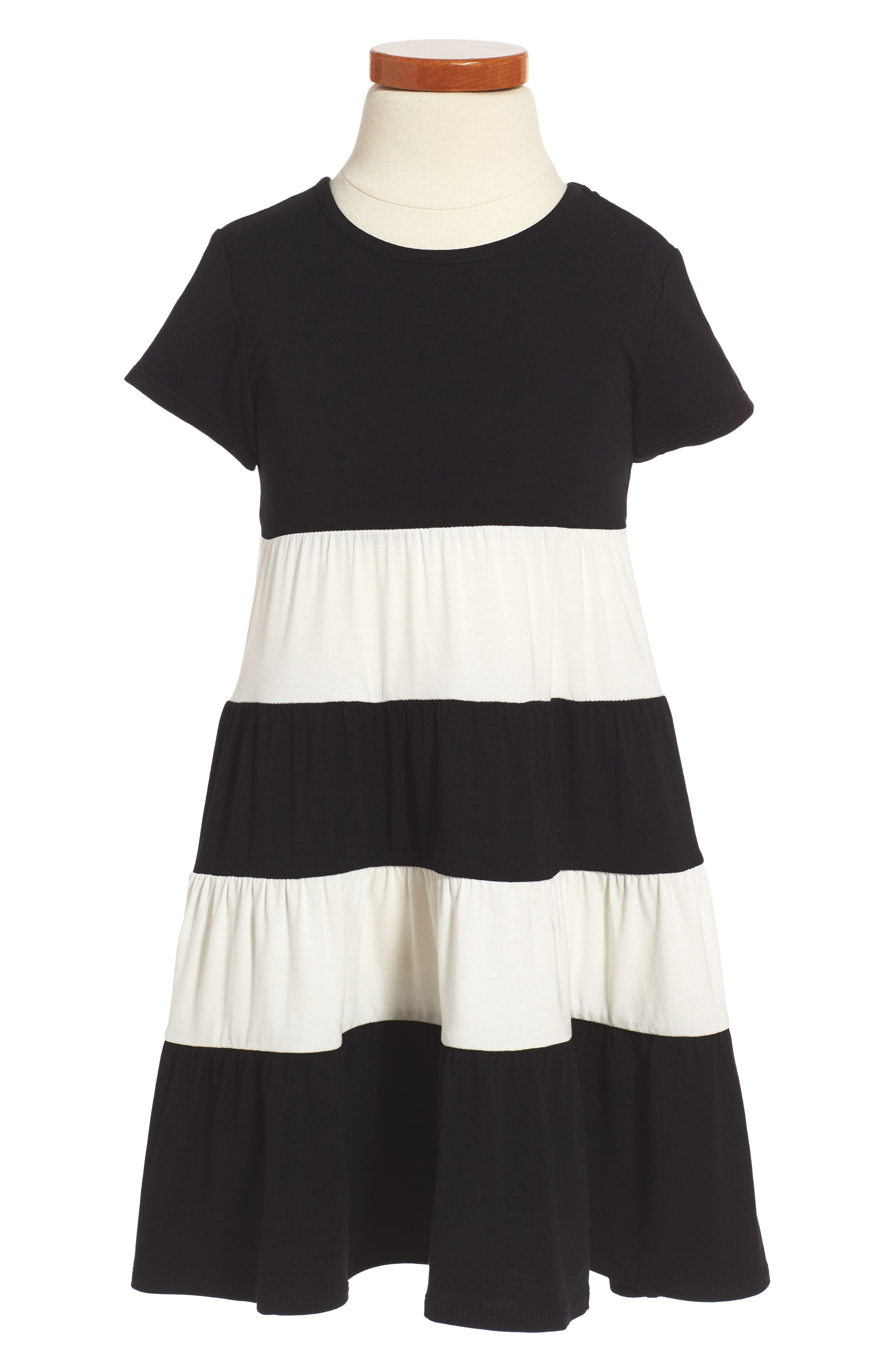 Peek Janice Stripe Dress (Toddler Girls, Little Girls & Big Girls)