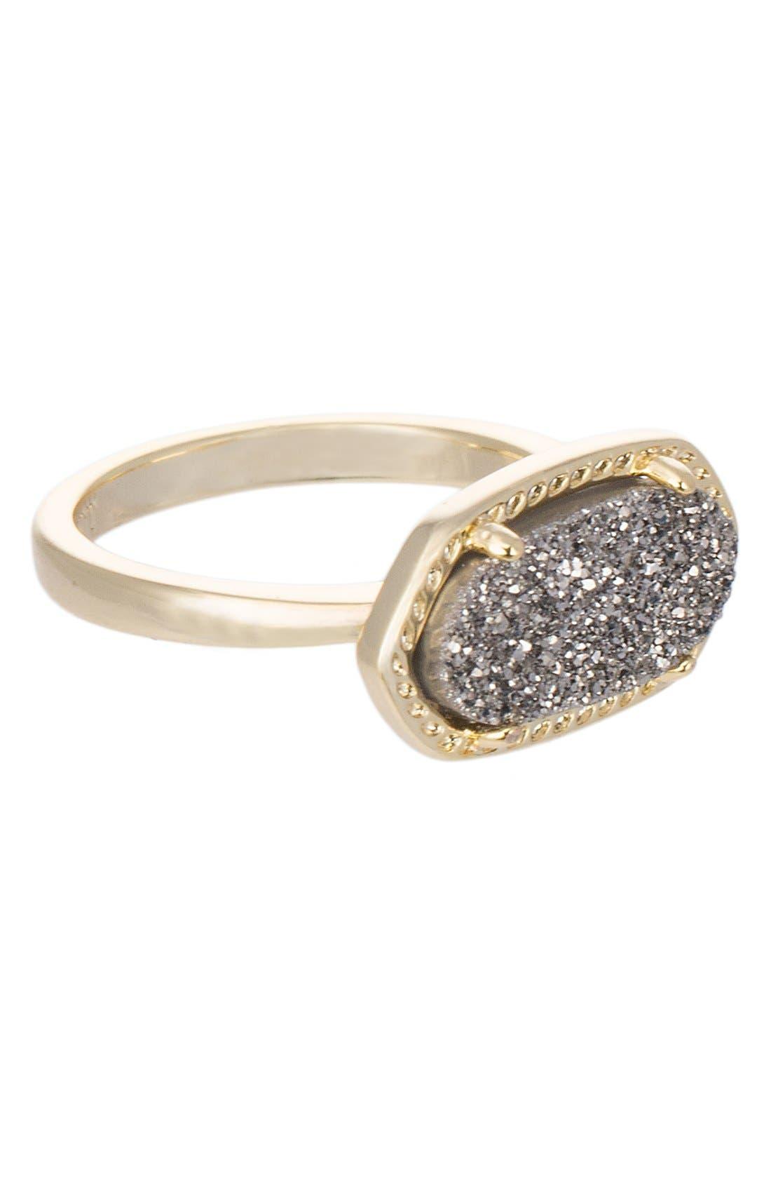 Alternate Image 1 Selected - Kendra Scott 'Ella' Drusy Ring