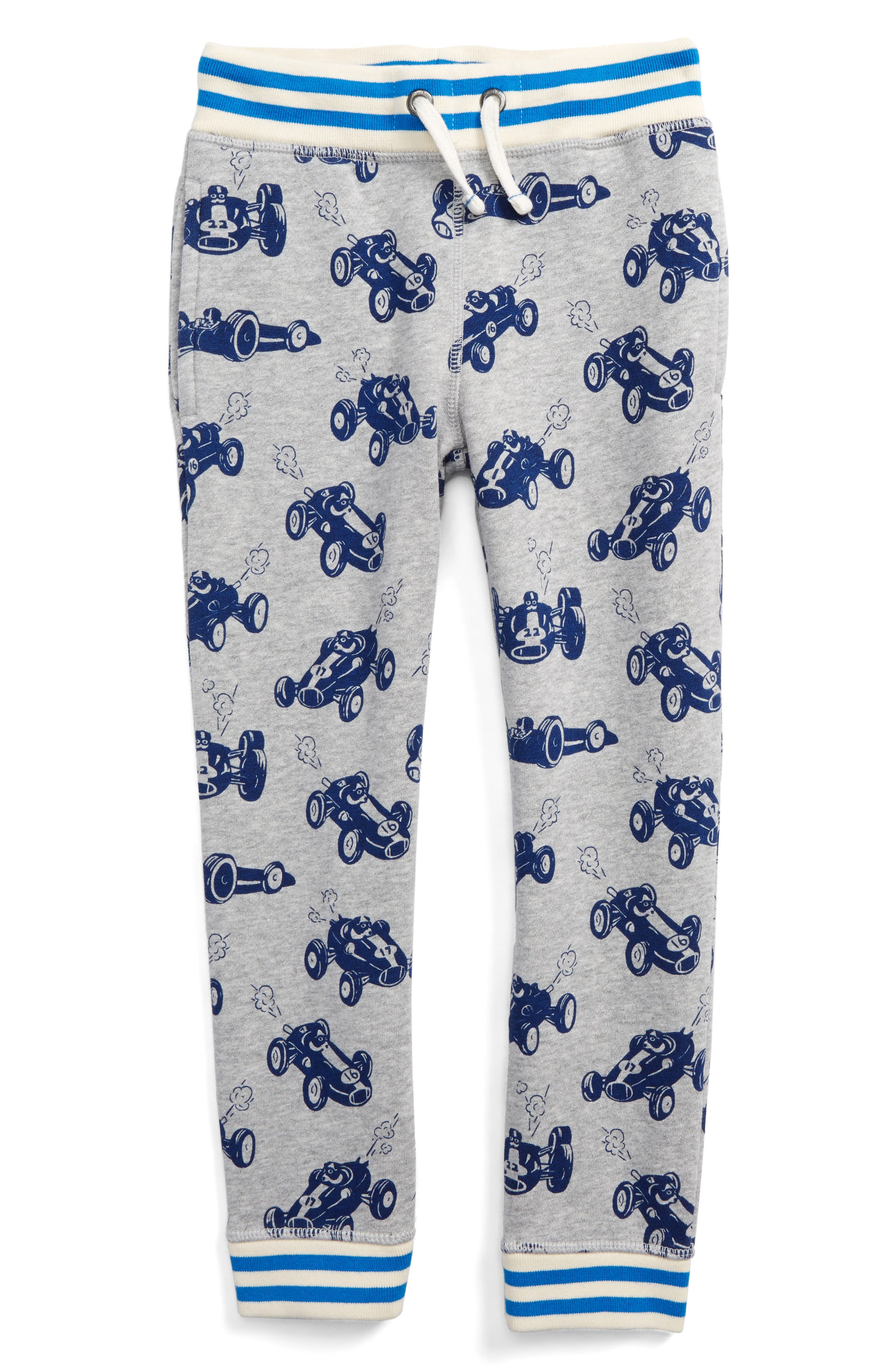 Mini Boden Print Jogger Pants (Toddler Boys, Little Boys & Big Boys)