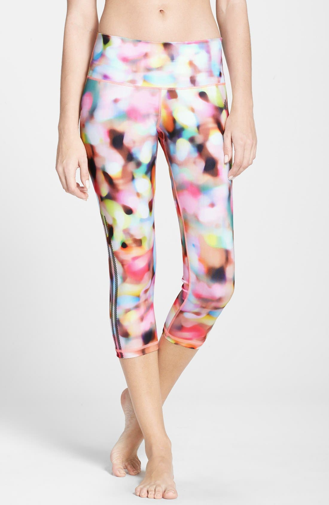 Alternate Image 1 Selected - adidas Festival Print Capris