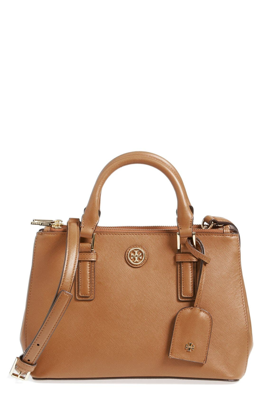 Alternate Image 1 Selected - Tory Burch 'Robinson - Micro' Double Zip Tote