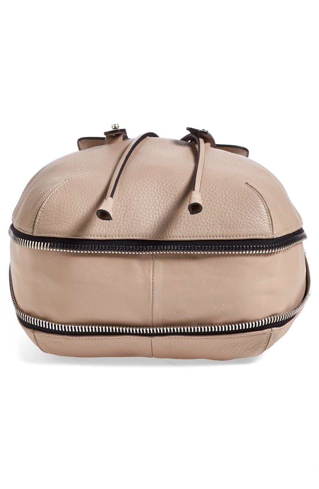 Alternate Image 6  - Mackage 'Bane' Convertible Leather Backpack