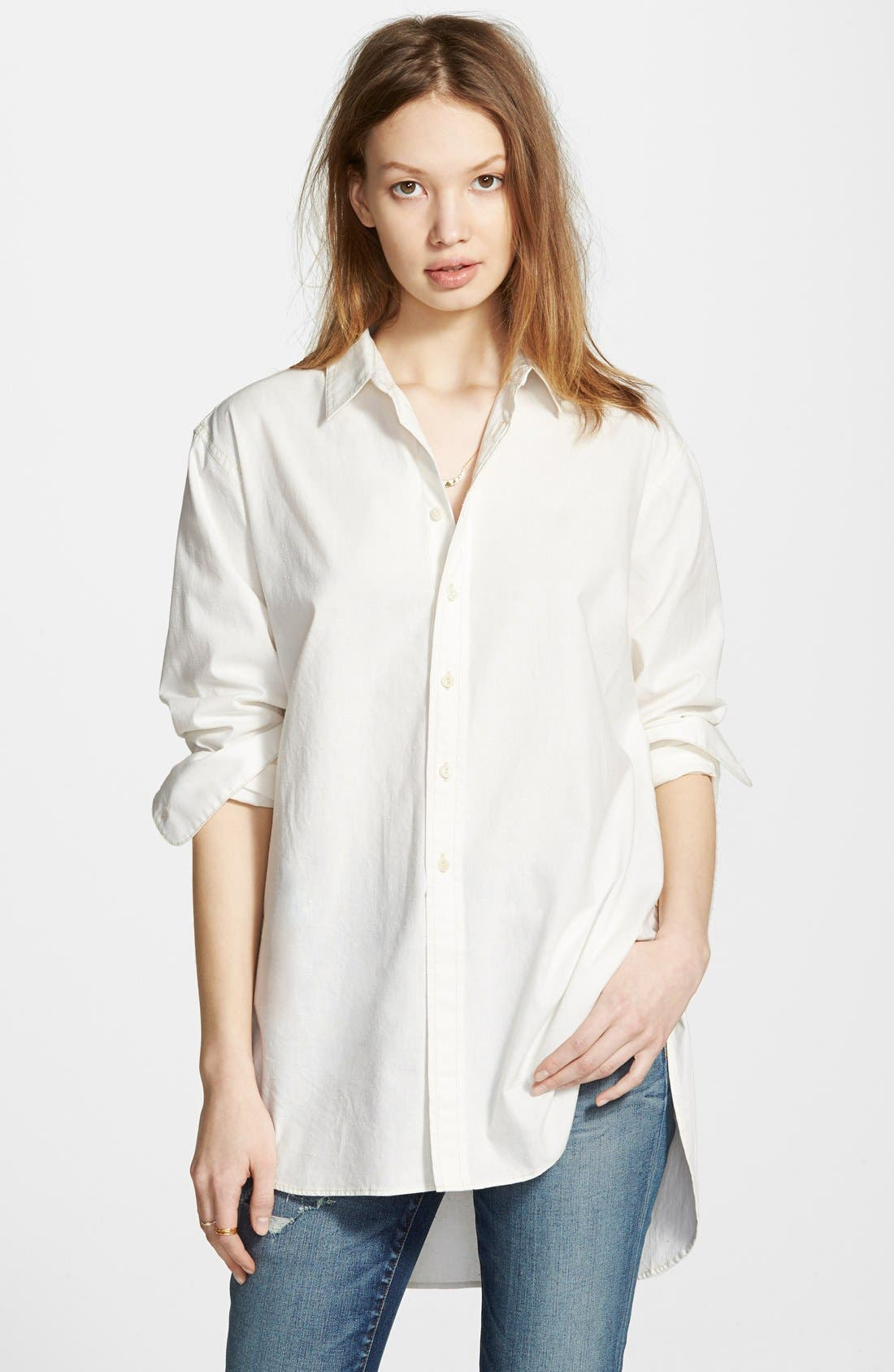 Main Image - Madewell Oversized Button Front Tunic