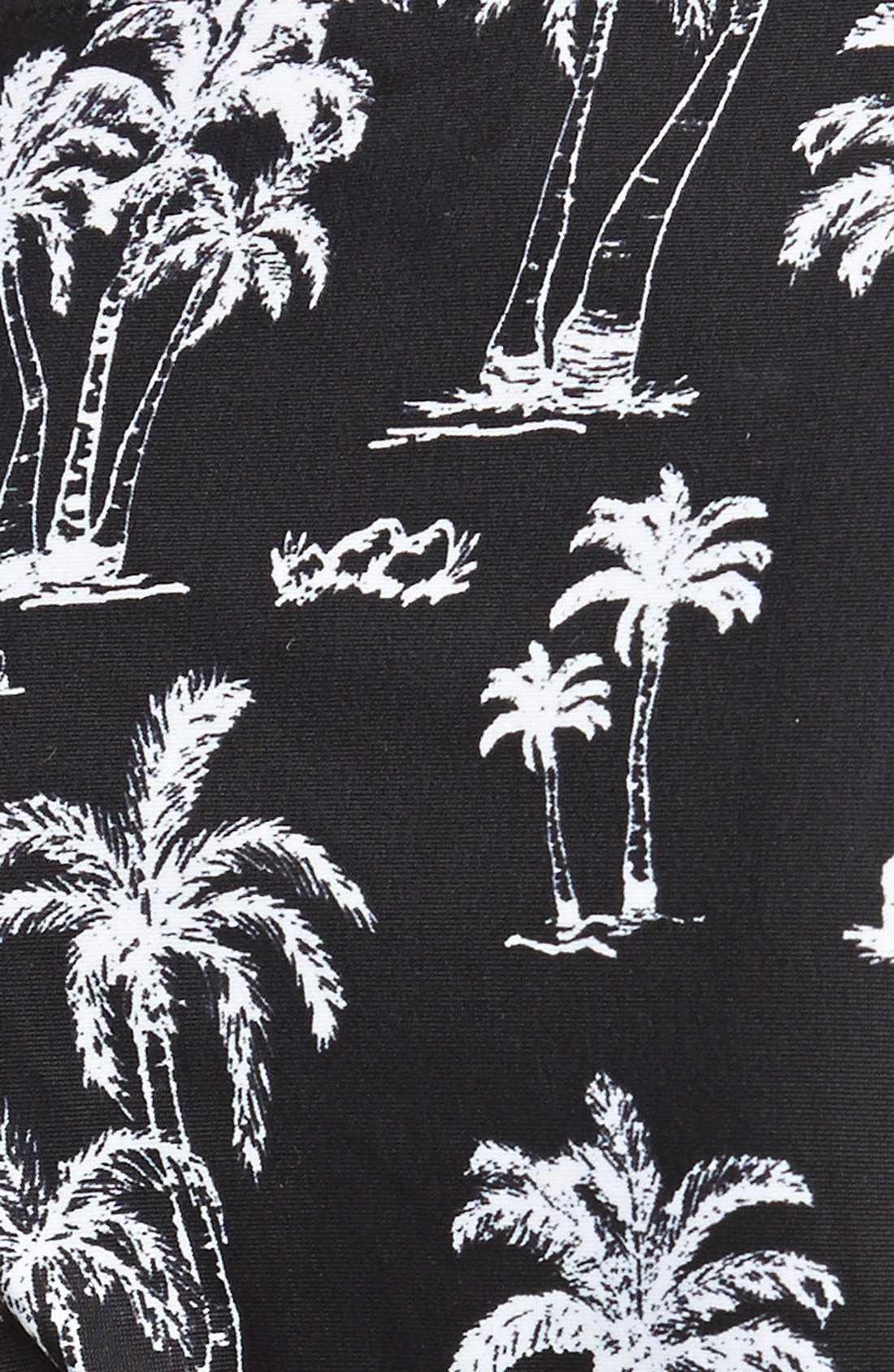 Alternate Image 3  - RVCA 'Palm Reader' Side Tie Bikini Bottoms