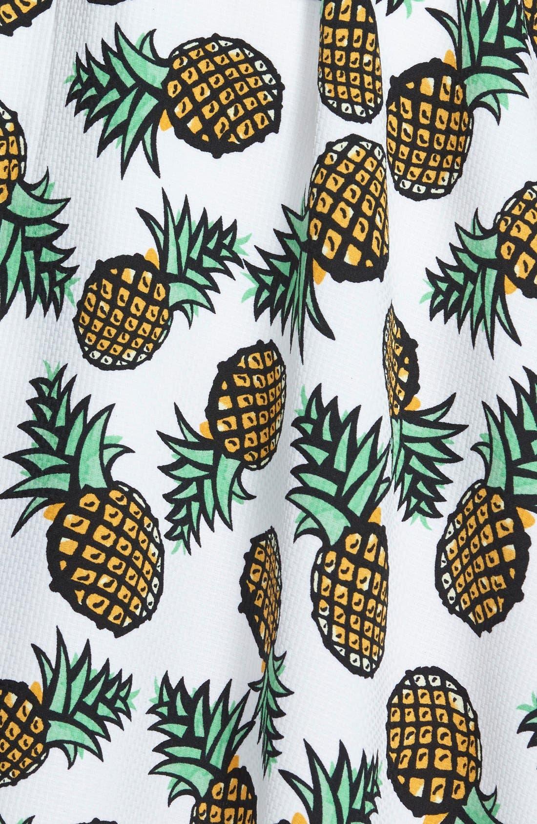 Alternate Image 3  - Piece Goods Pineapple Skirt