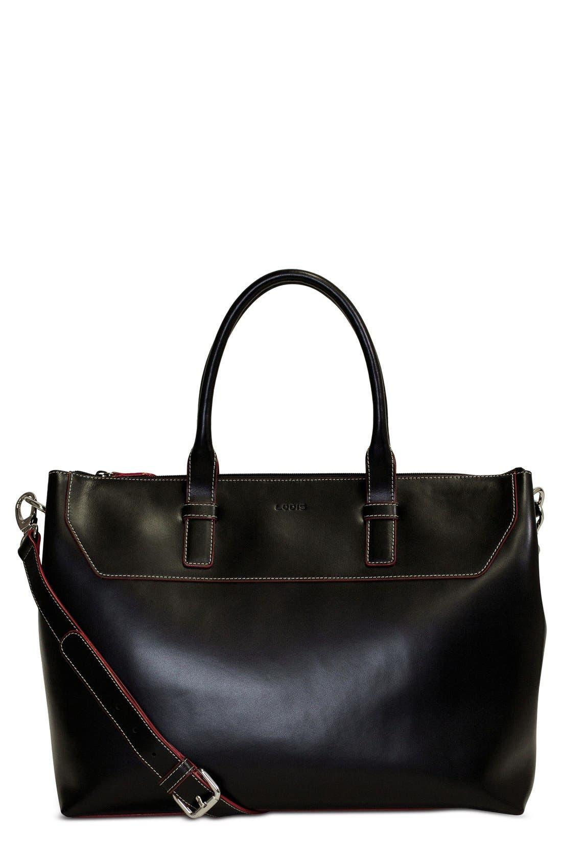 Alternate Image 1 Selected - Lodis Audrey Wilhelmina Leather Work Satchel