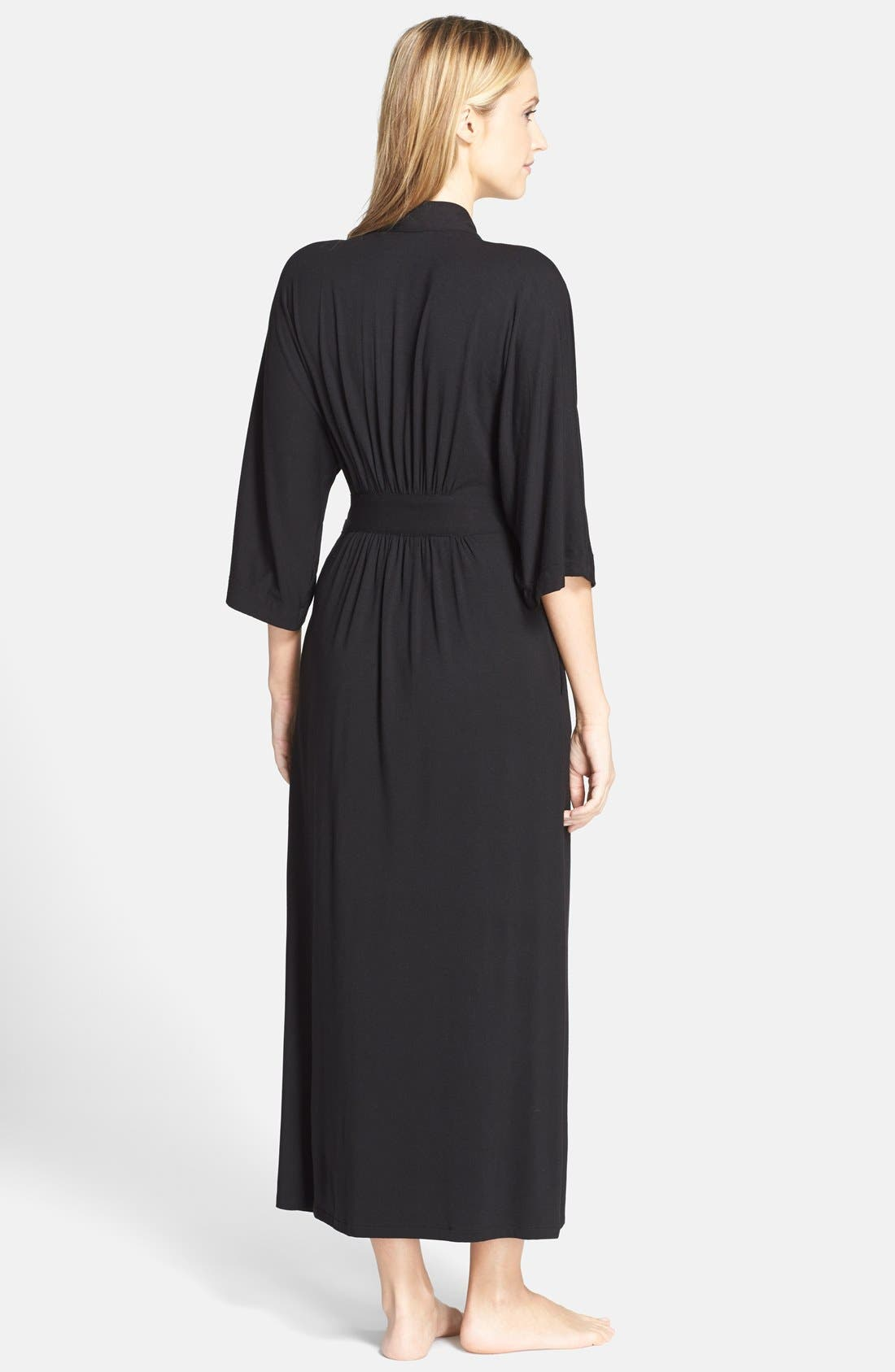 Alternate Image 2  - DKNY 'Urban Essentials' Long Robe