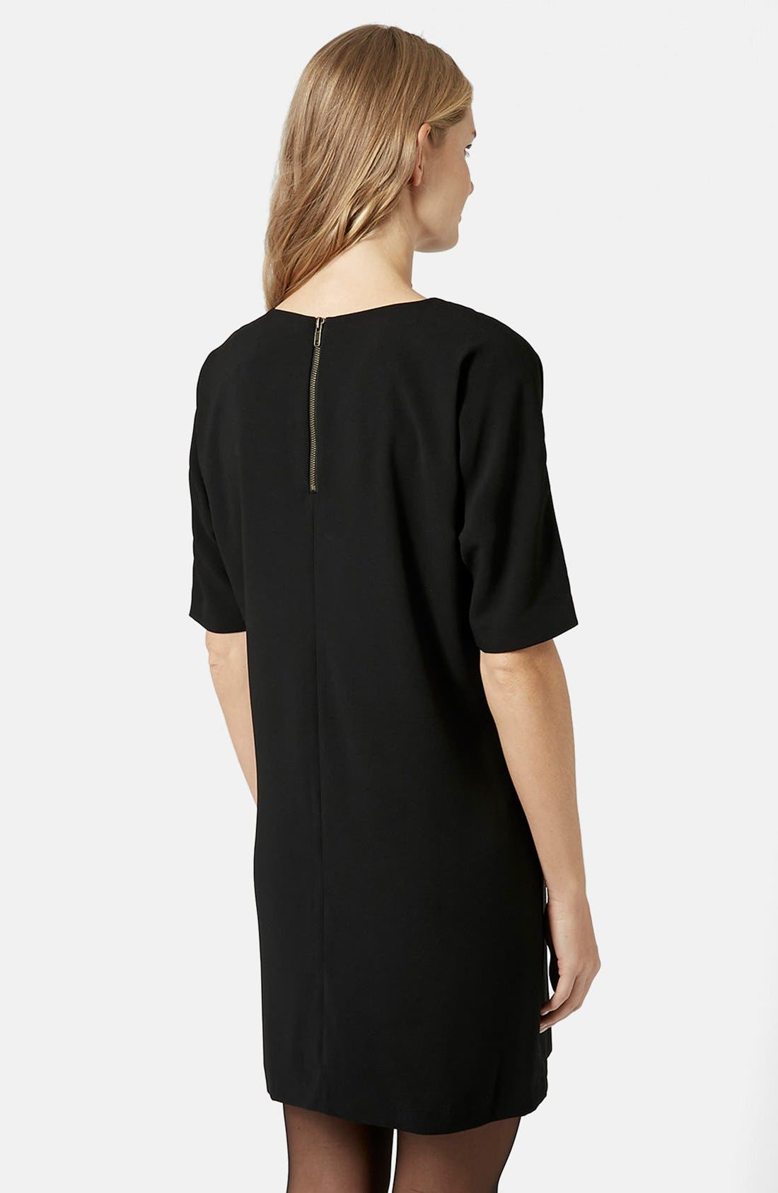 Alternate Image 2  - Topshop Oversize Maternity Shift Dress