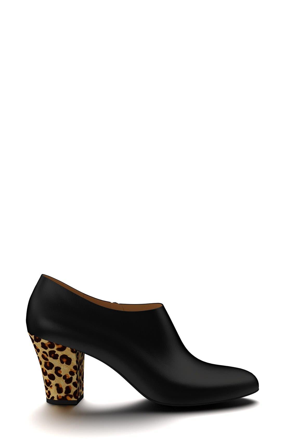 Alternate Image 2  - Shoes of Prey & Genuine Calf Hair  Bootie (Women)