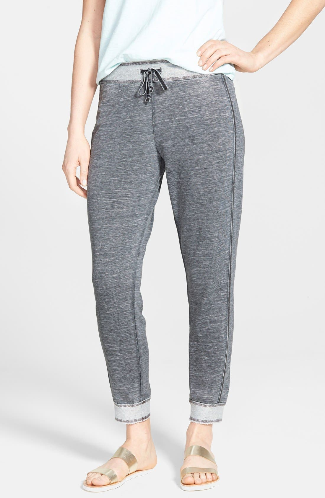 Alternate Image 1 Selected - Lucky Brand French Terry Drawstring Pants