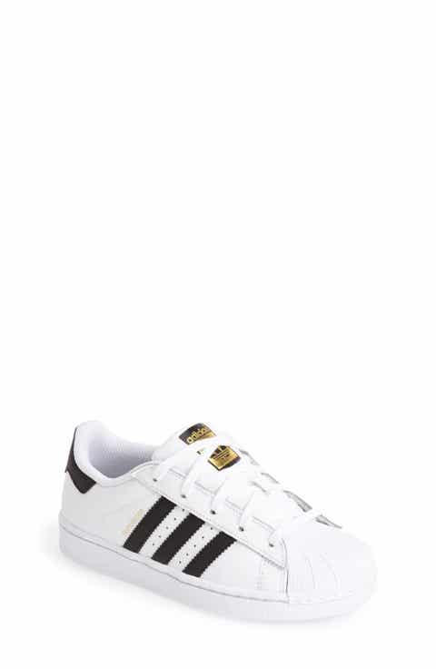 adidas 'Superstar C' Sneaker (Toddler   Little Kid)