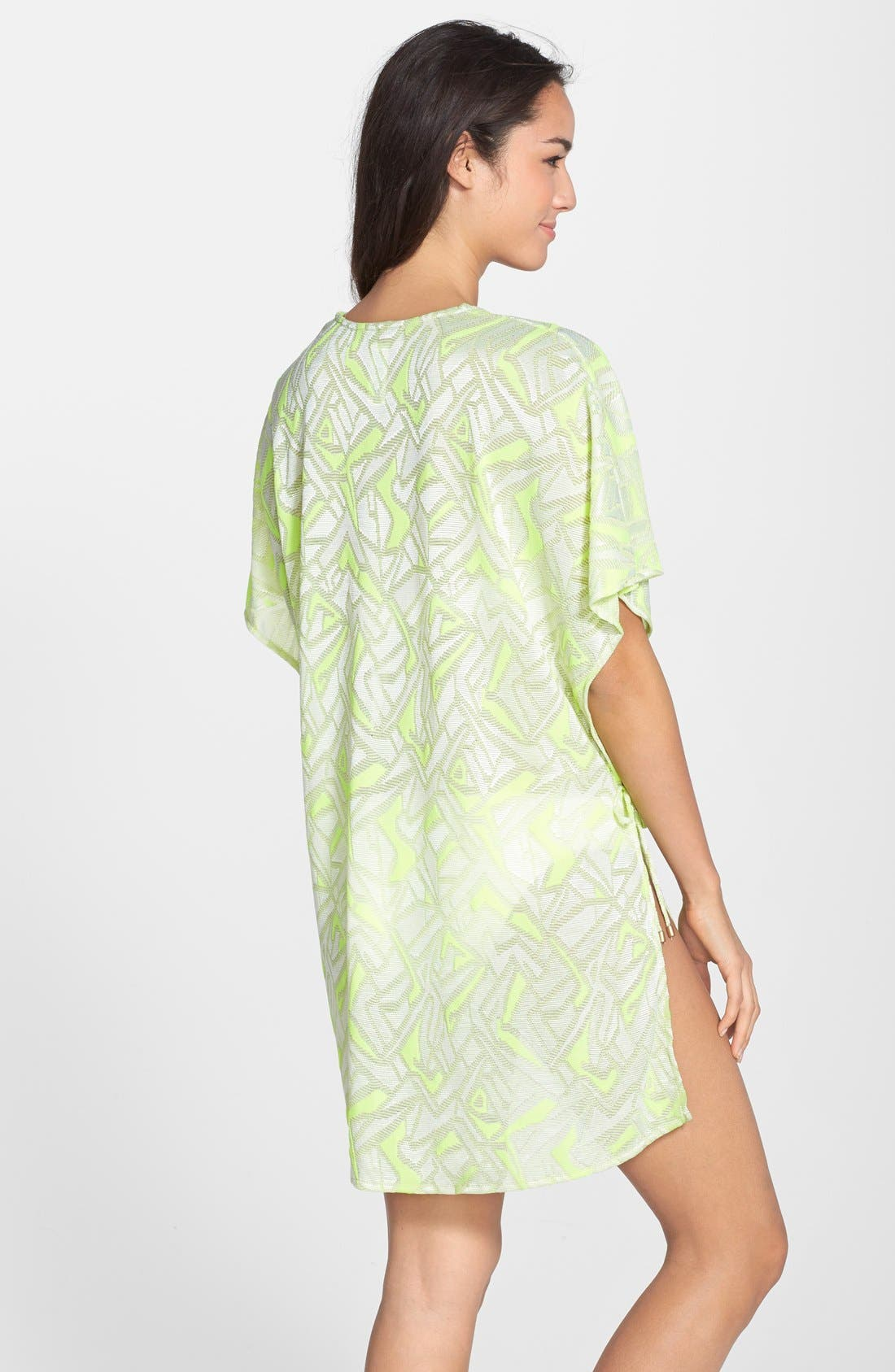 Alternate Image 2  - Vitamin A® 'Pelicano' Geo Pattern Cover-Up Poncho
